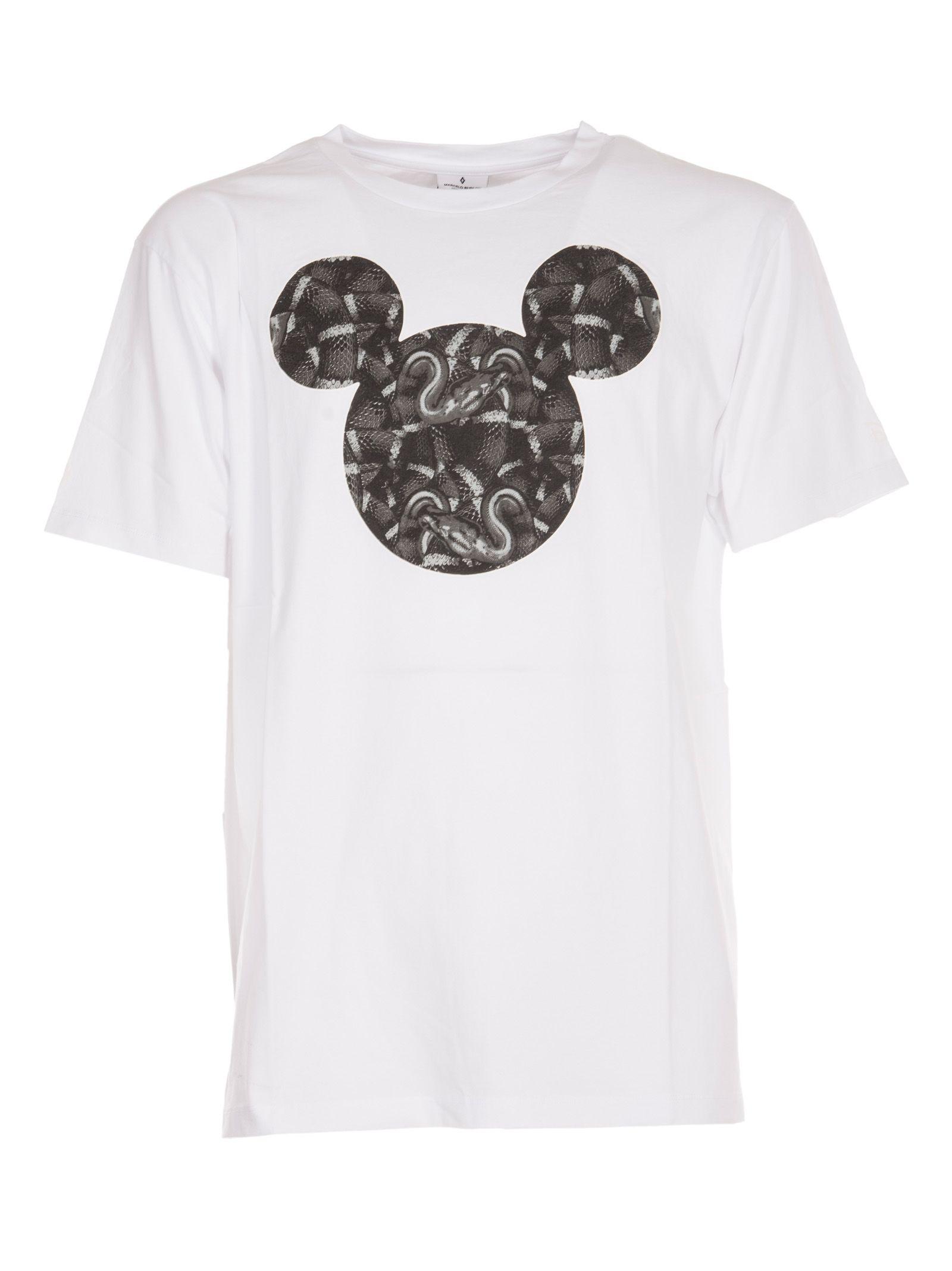 Marcelo Burlon Mickey Mouse Snakes T-shirt