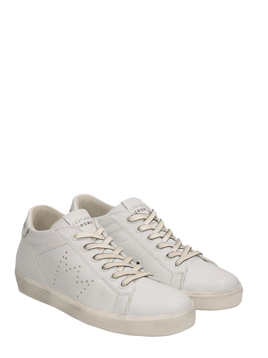 Leather Crown W Iconic Leather Sneakers View Online 8pLBQ9