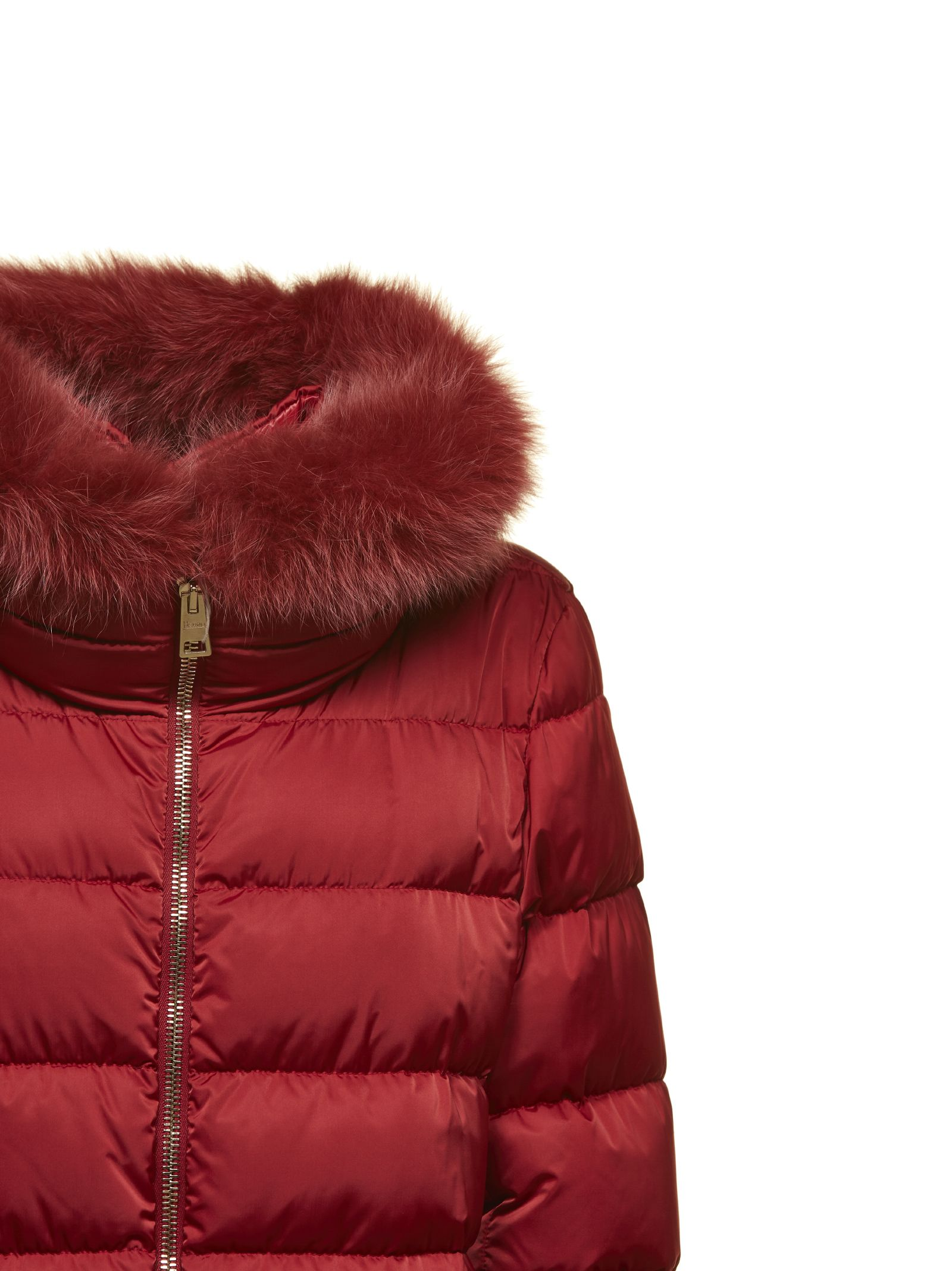 Herno Fur Padded Jacket