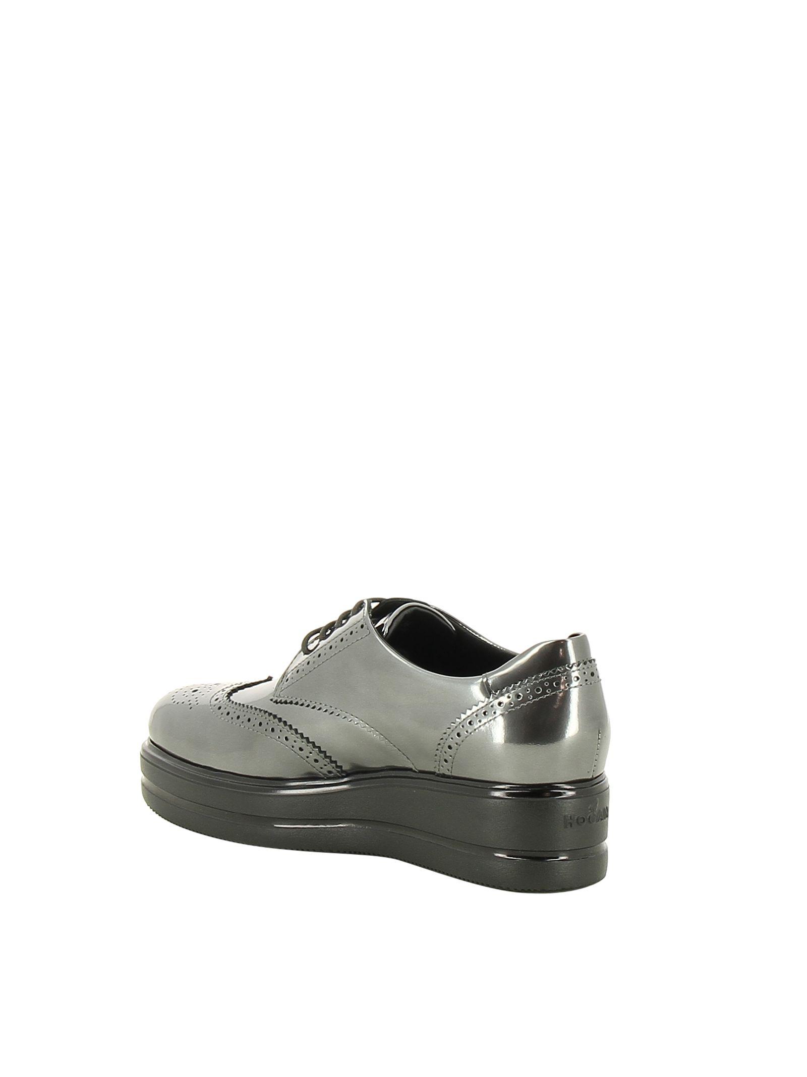 Hogan Platform derby shoes