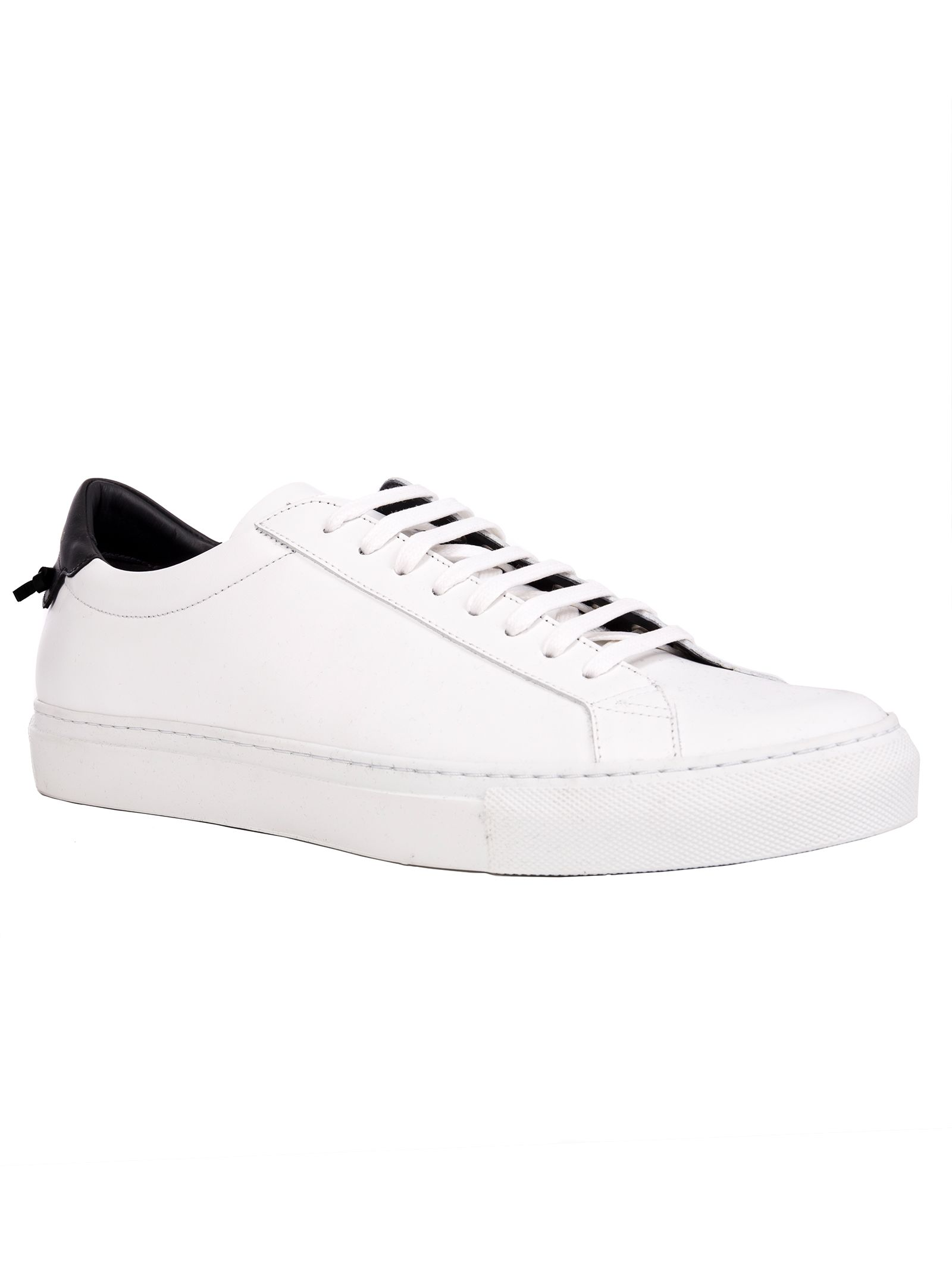 GIVENCHY PARIS URBAN STREET SNEAKERS IN WHITE