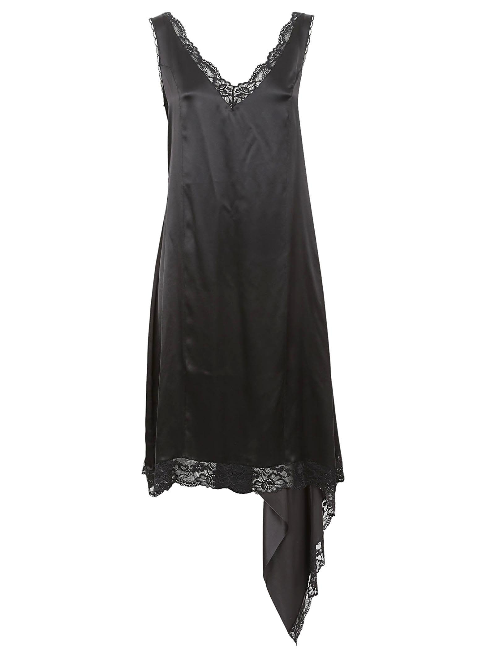 Vetements Silk And Lace Dress