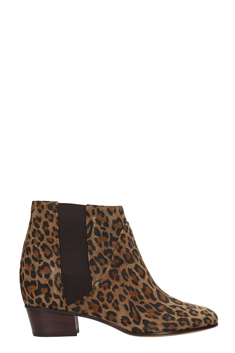 Dana Ankle Boots, Animalier