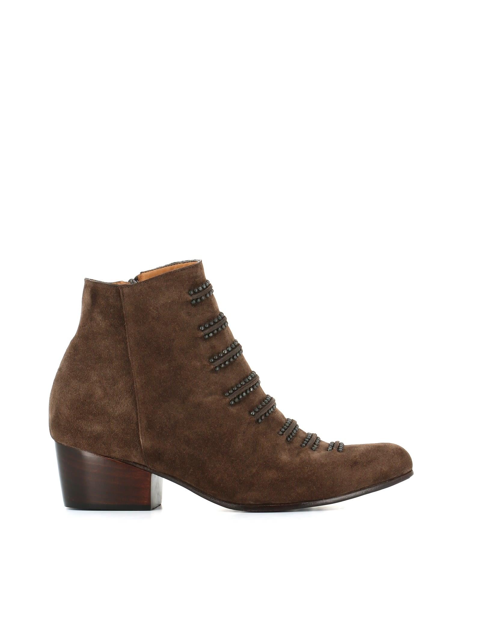 """CALLEEN CORDERO Boot """"Tiba"""" in Dark Brown"""