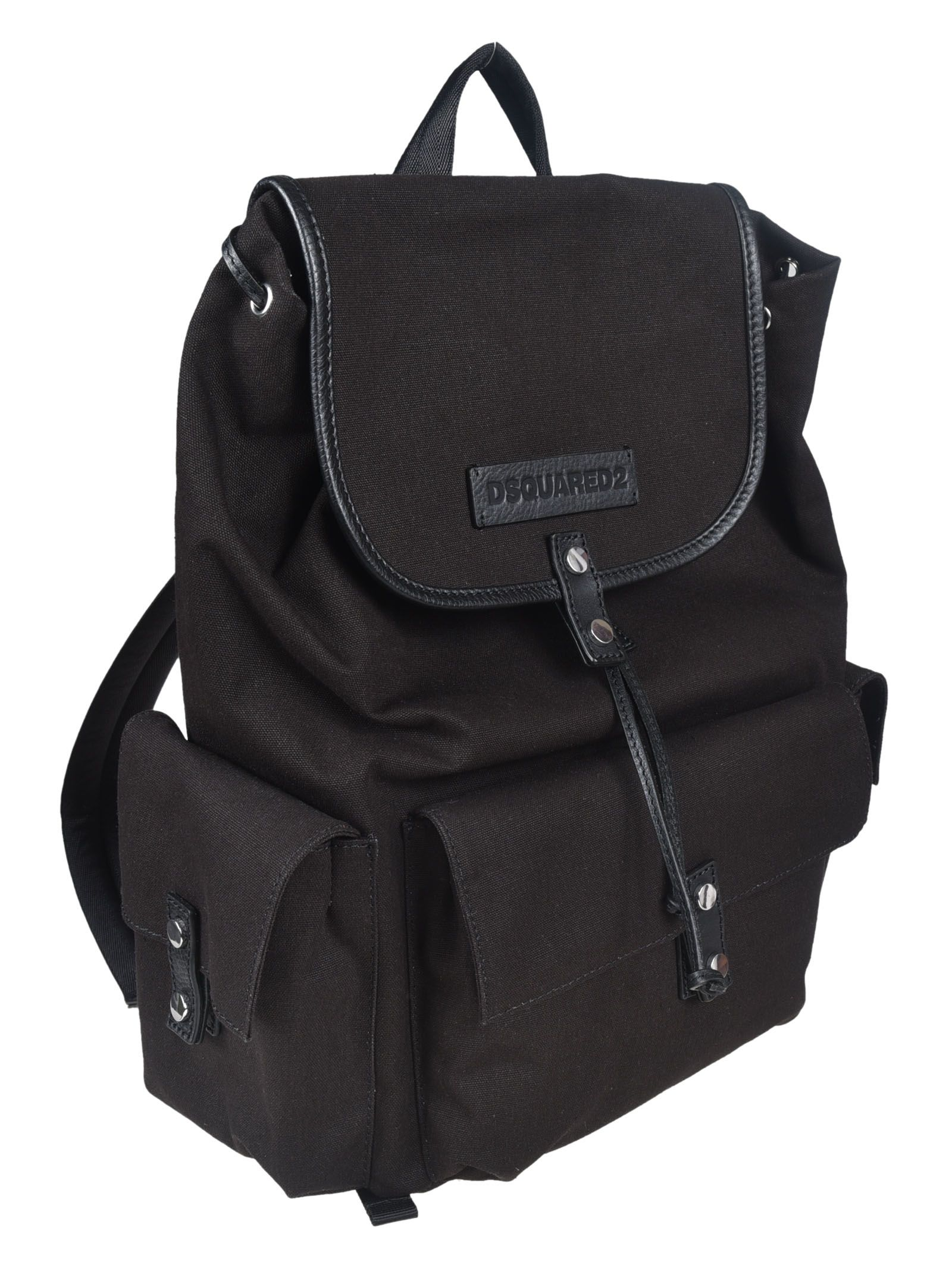 Clearance Cheapest Price military backpack - Black Dsquared2 Outlet View TKw8DLU3