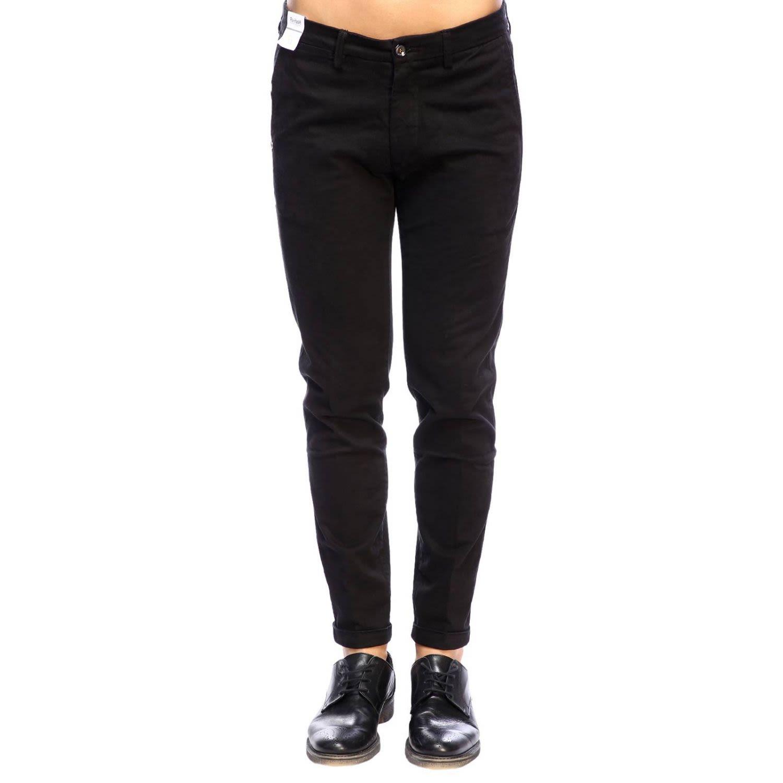 RE-HASH Re-Hash Pants Pants Men Re-Hash in Black
