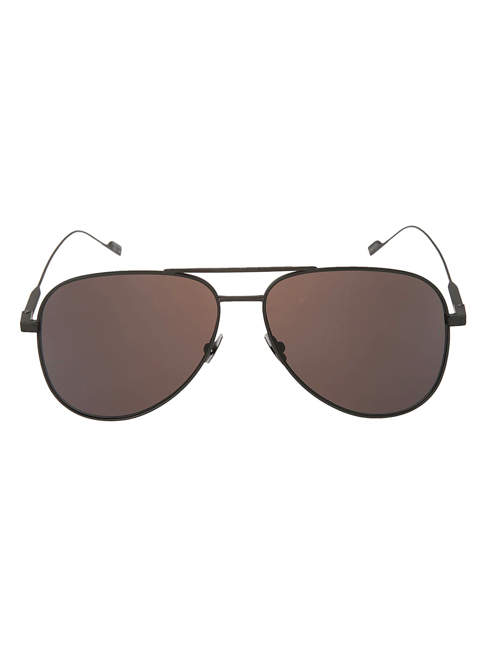 11b62a74d7 Aviator Sunglasses from Saint Laurent  Black-Grey Aviator Sunglasses with  tinted lenses
