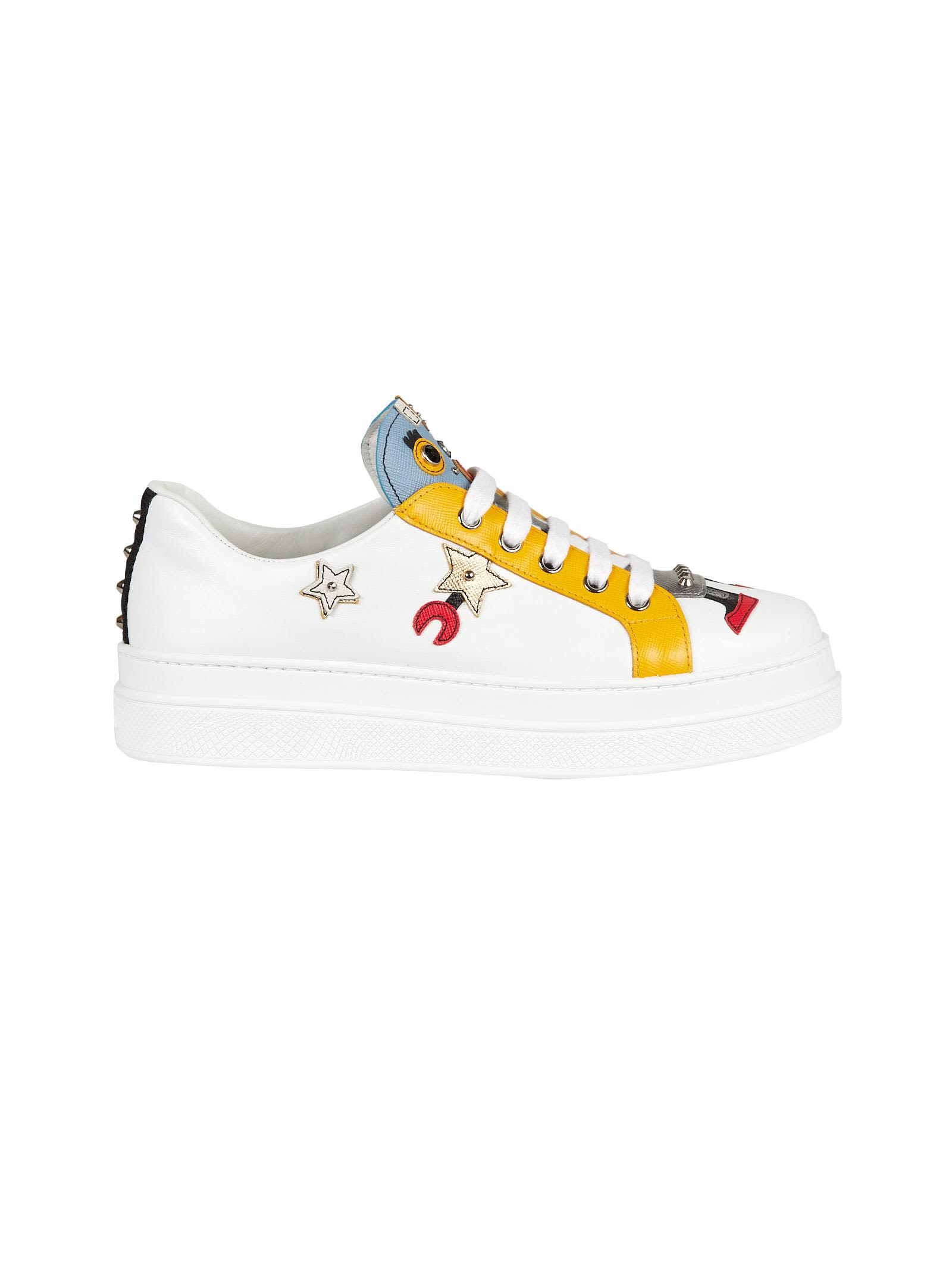 platform soled sneakers - Multicolour Prada Cheap Sale Prices Outlet High Quality Sale Online Free Shipping High Quality BA4xzXkT