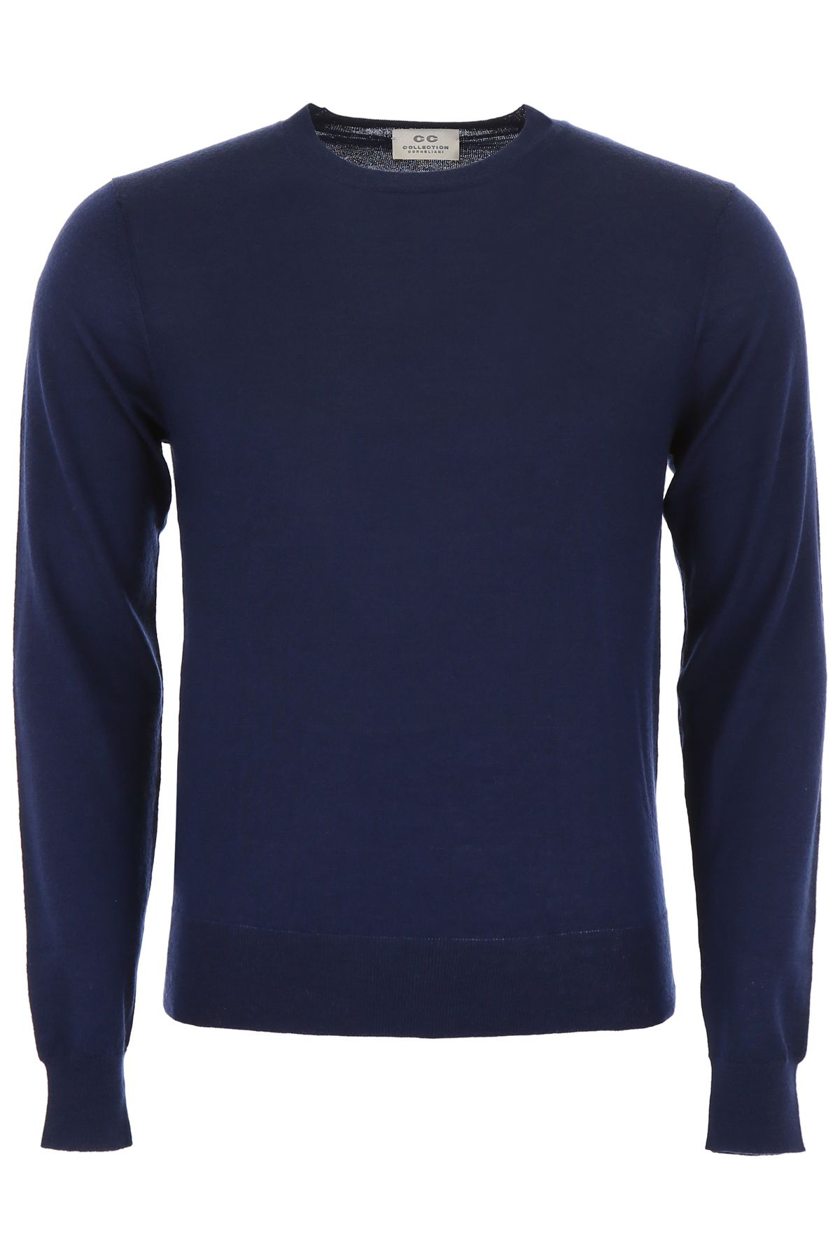 CC COLLECTION CORNELIANI Cashmere Pullover in Navy