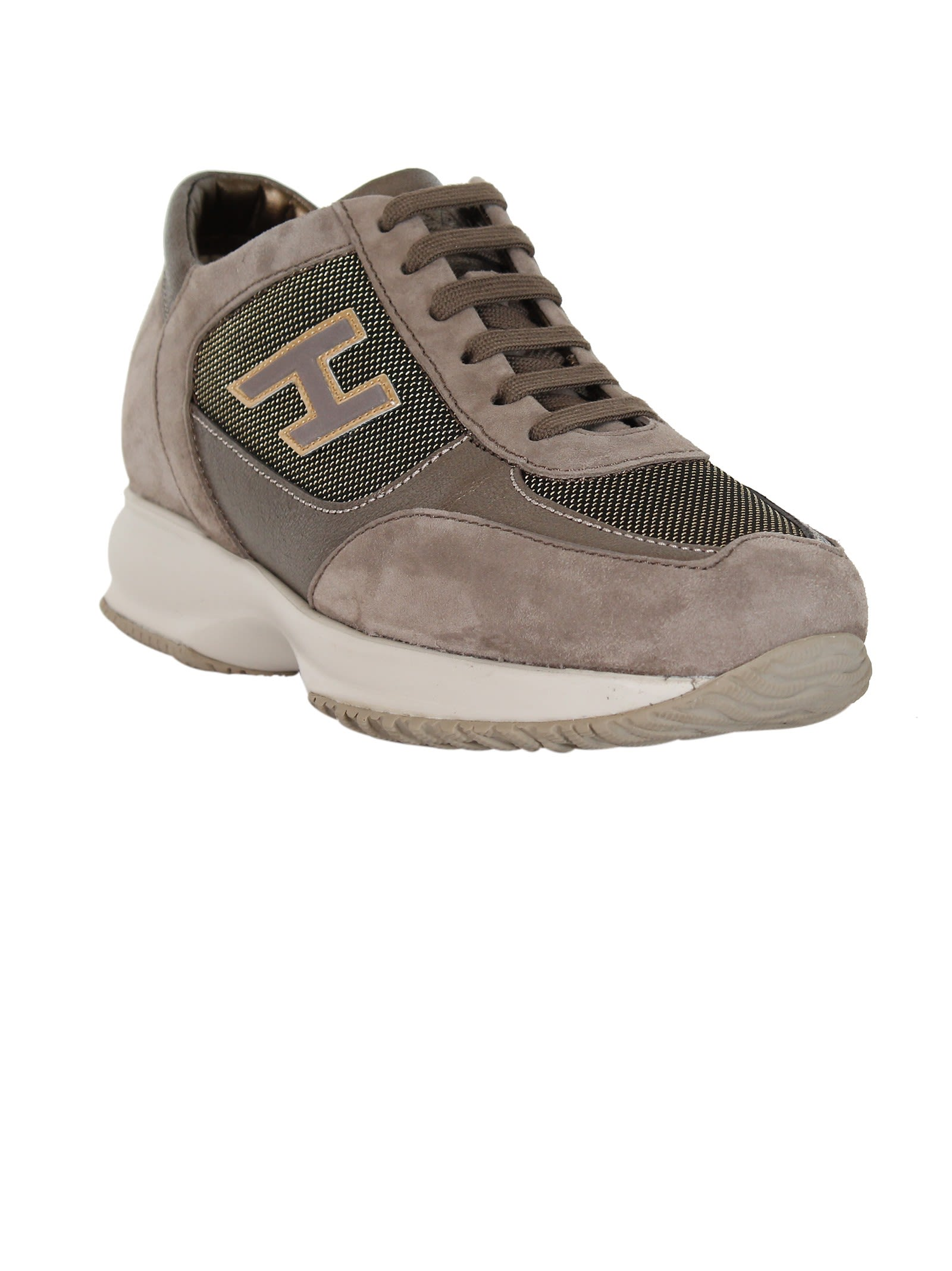 Taupe Interactive sneakers Hogan xPhwNM