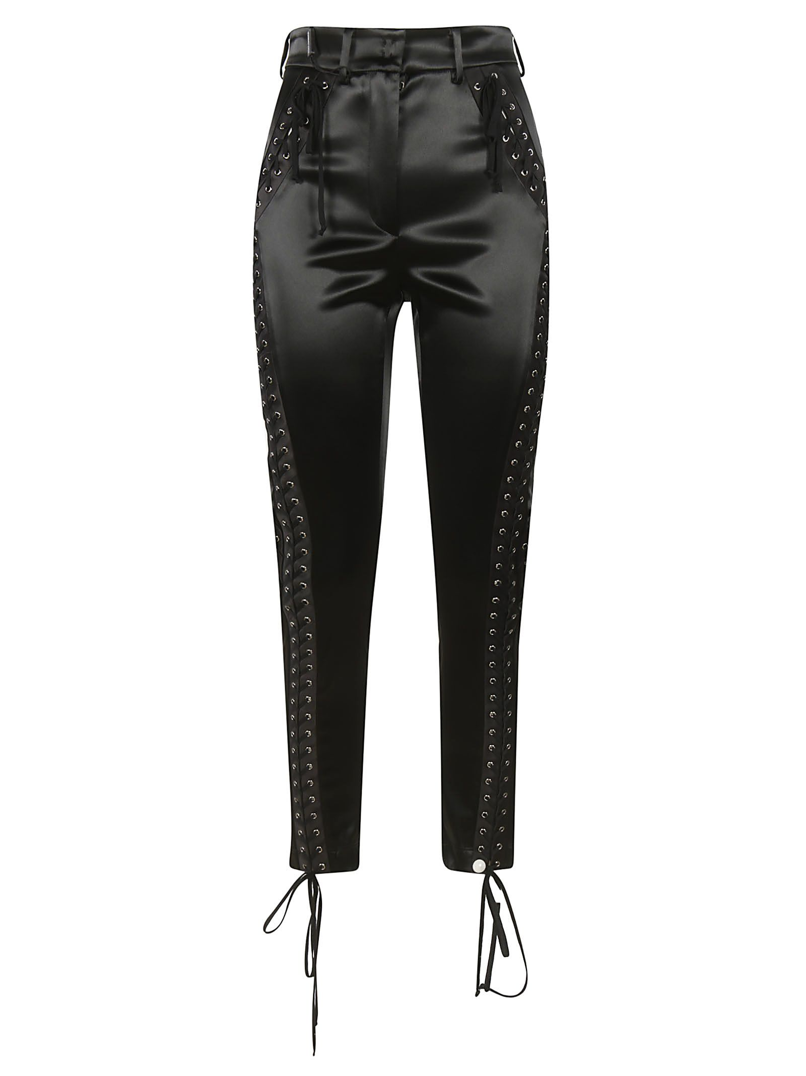 LACE-UP DETAIL TROUSERS from Italist.com