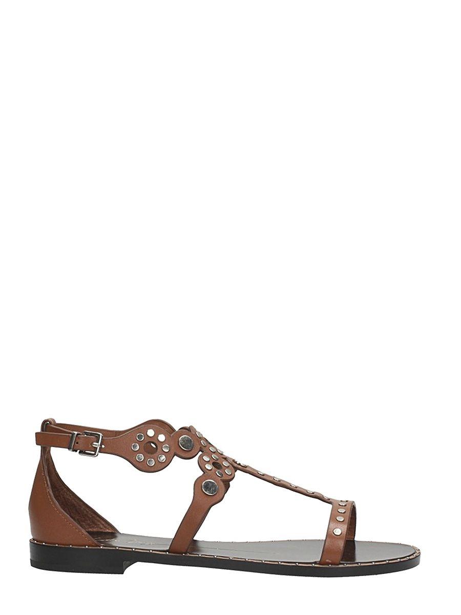 Lola Cruz Leather Flat Sandals Clearance Professional kdLRQ