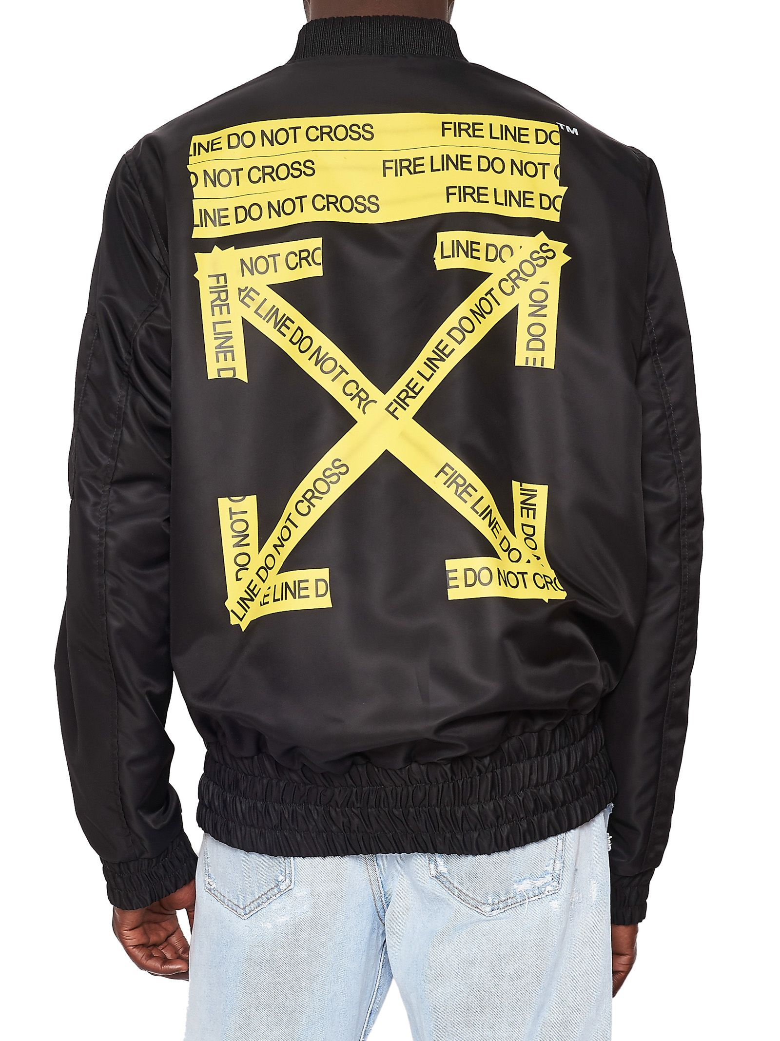 Off-White - Off-white Jacket - Black Menu0026#39;s Jackets | Italist