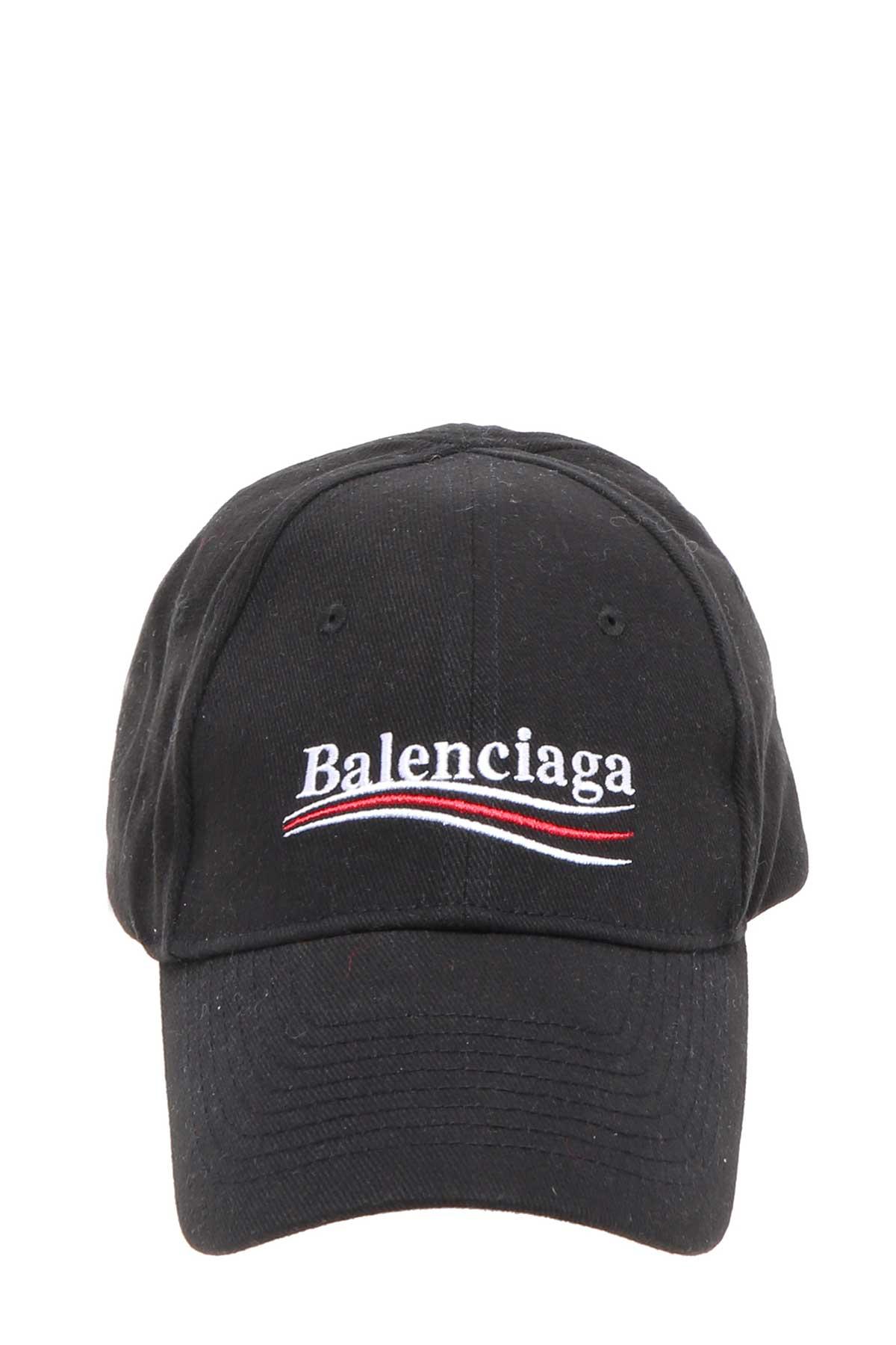 BALENCIAGA Embroidered Cotton-Twill Baseball Cap 9747fb54f08a