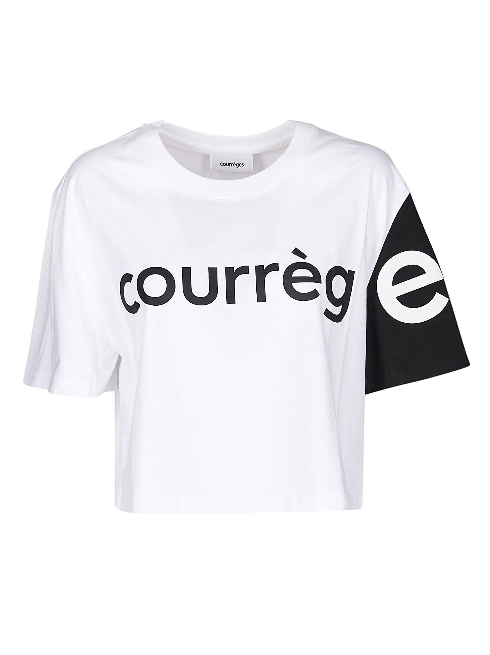 Courrèges Courrèges Cropped T-shirt