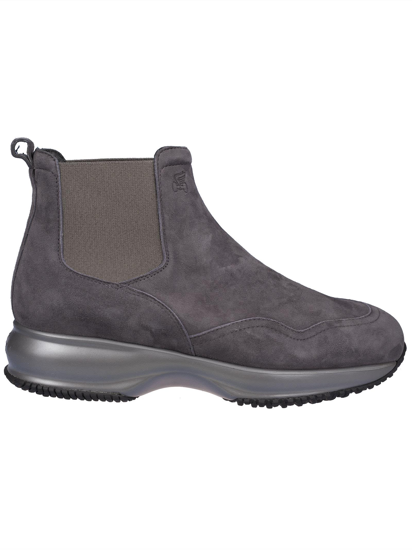 ELASTICATED SIDE PANELS ANKLE BOOTS