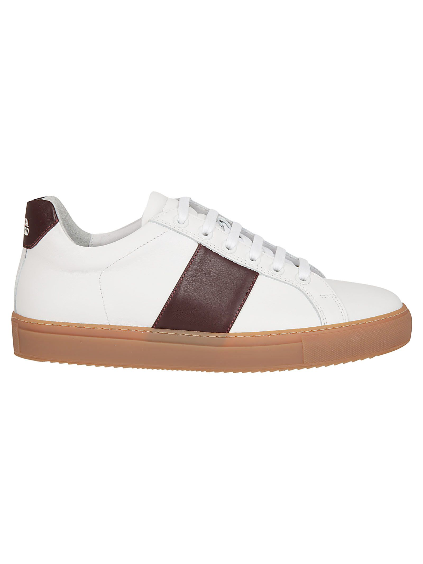 NATIONAL STANDARD Classic Sneakers in Bianca/Mosto