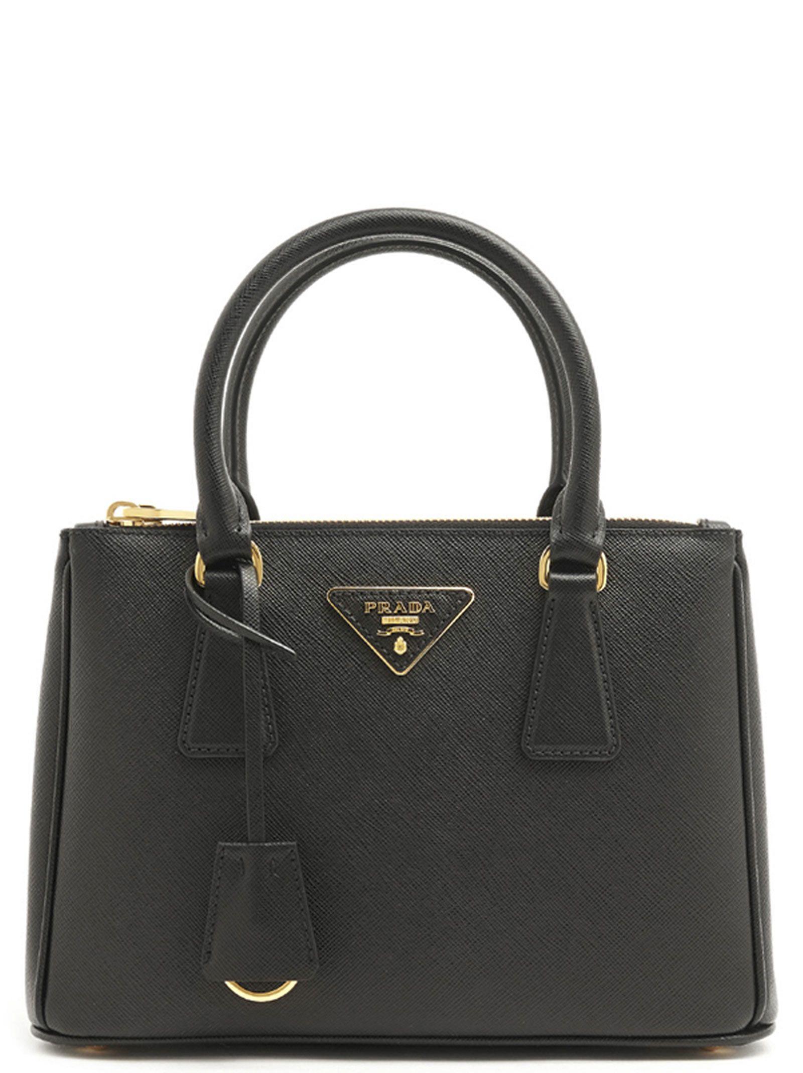 761709439e ... norway prada galleria bag in black 74433 91b13 ...