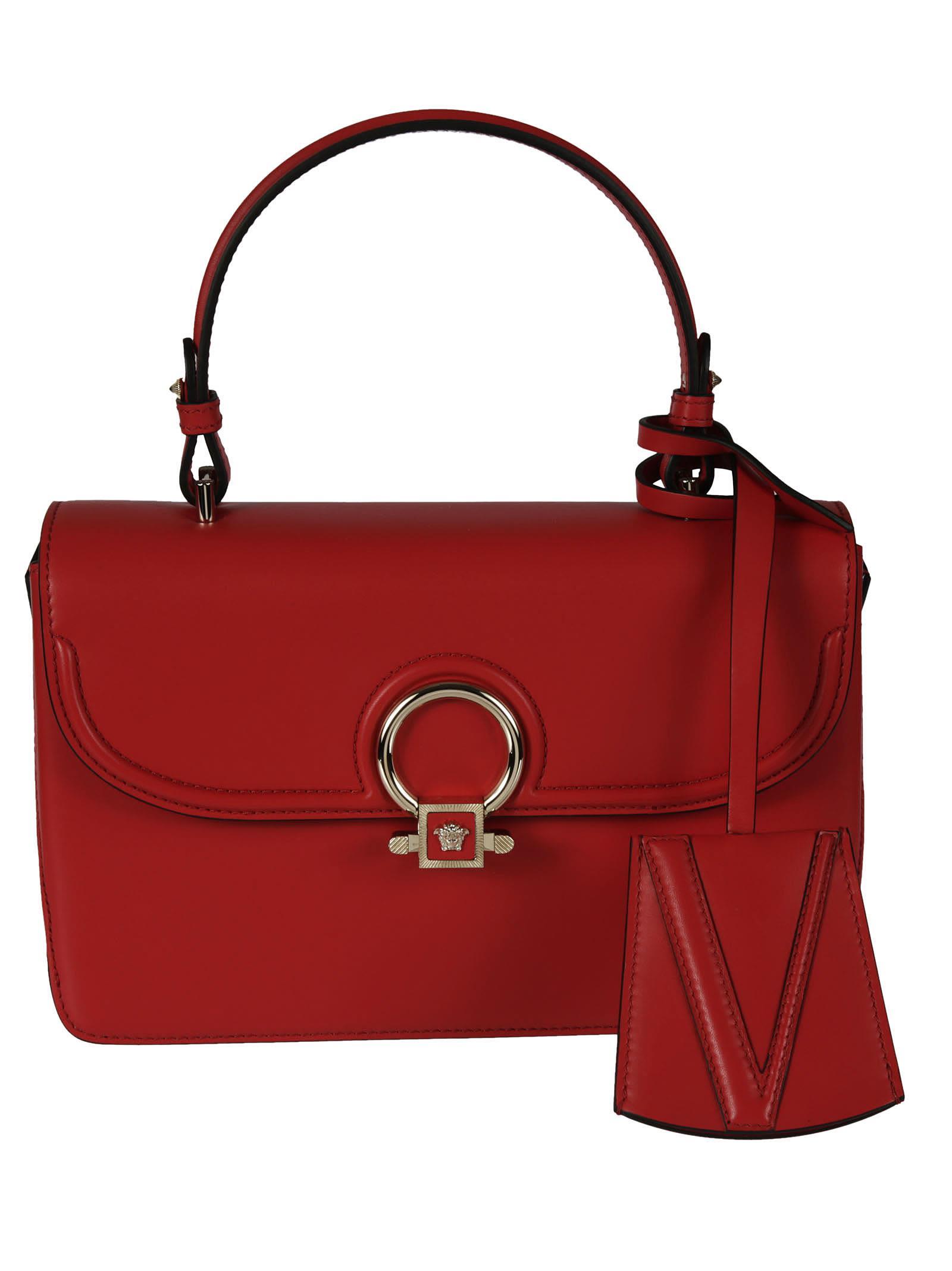 DV ONE shoulder bag - Red Versace Ql7uWTW