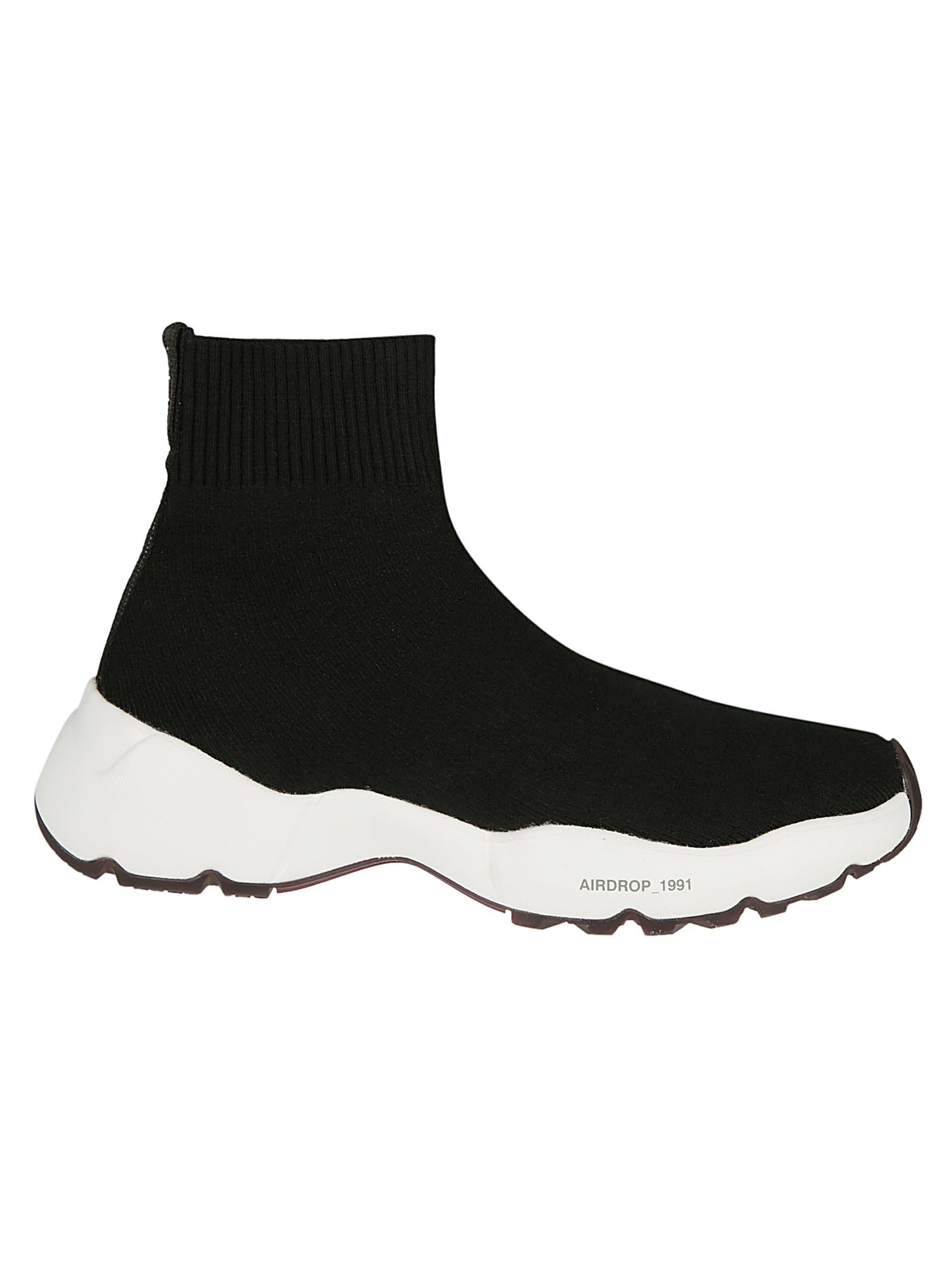 OXS Oxs Airdrop Sock Sneakers in Nero