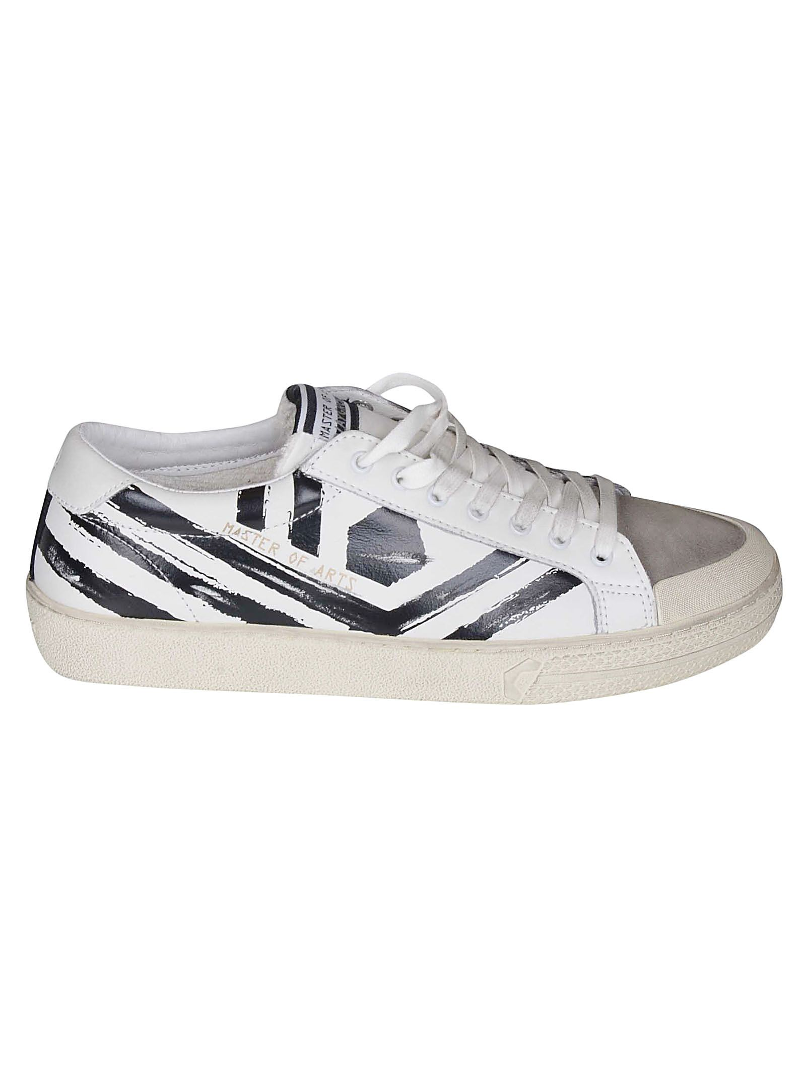 M.O.A. MASTER OF ARTS M.O.A. KIT PLAYGROUND STRIPED LOW-TOP SNEAKERS