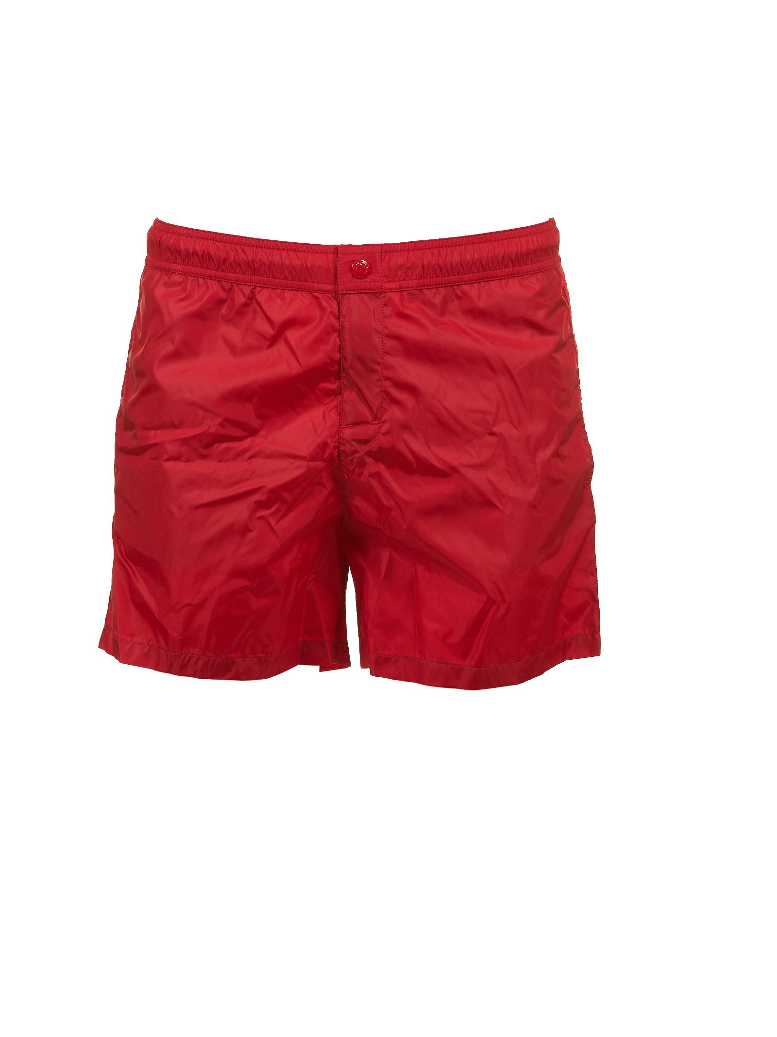 Moncler Side Stripe Swim Shorts ...