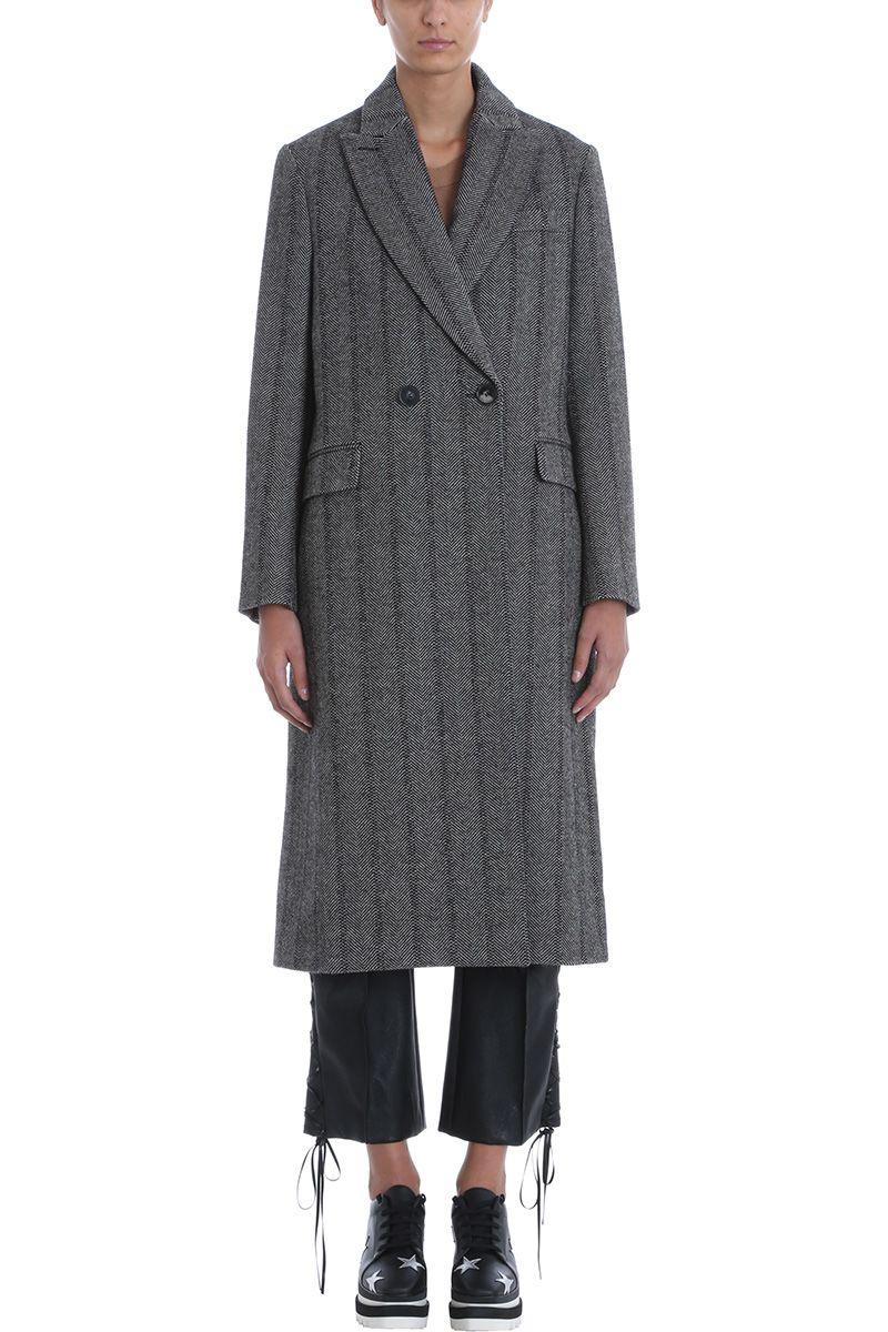 Stella McCartney Katherine Double Breasted Coat