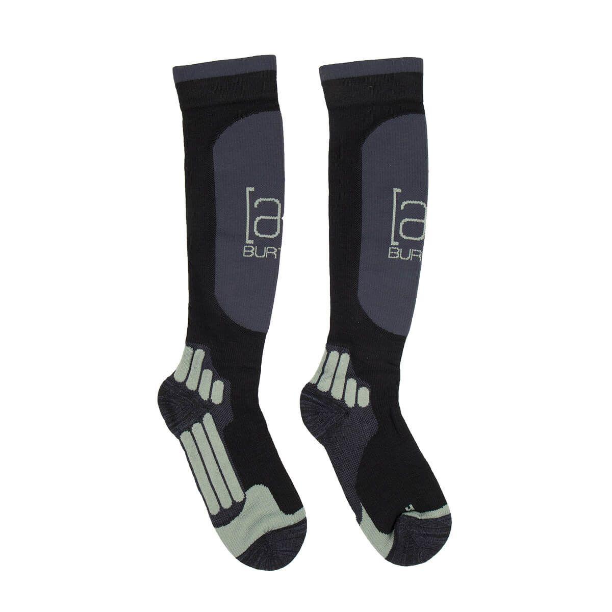 BURTON Endurance Snowboard Socks in Black