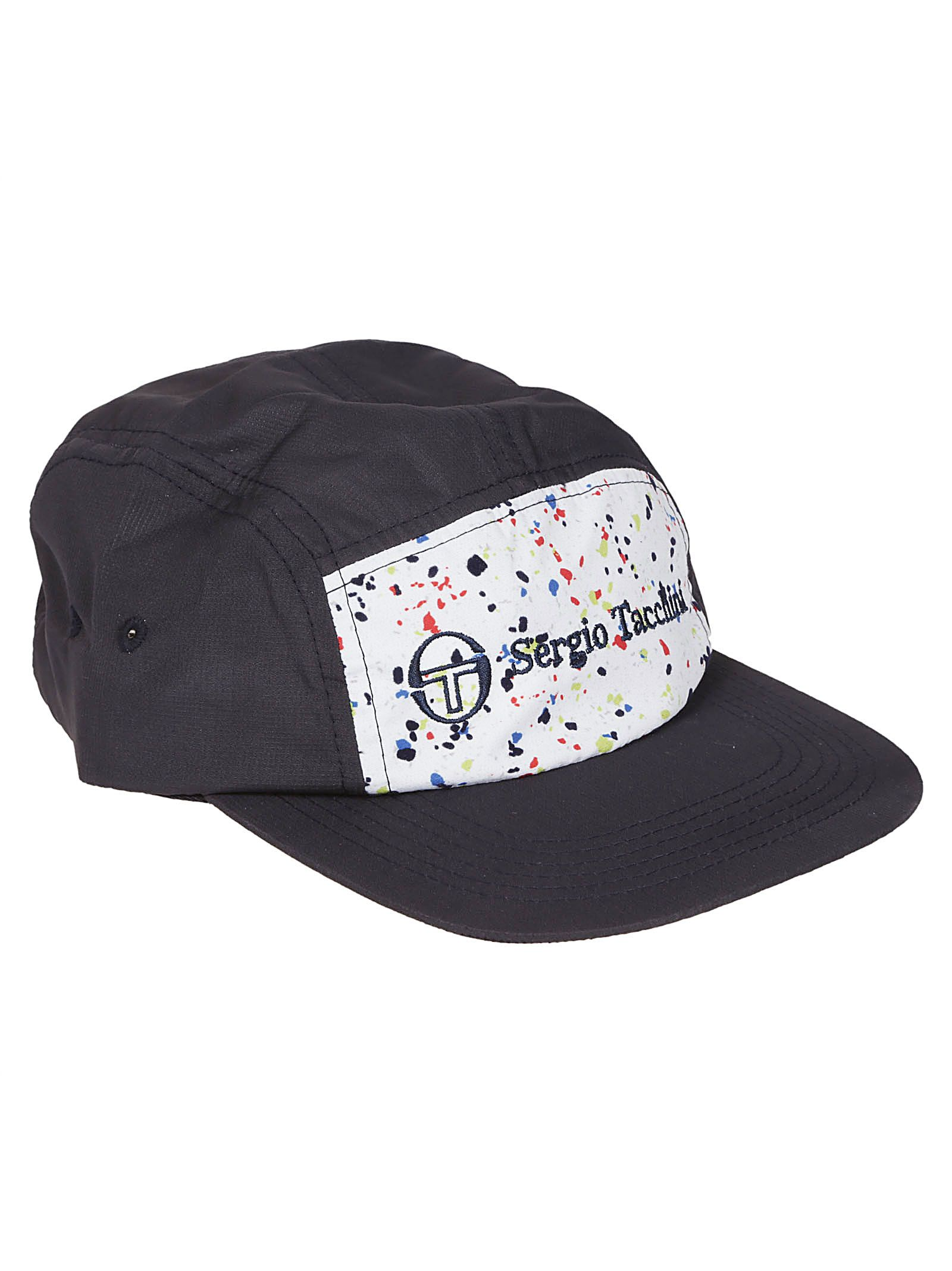 SERGIO TACCHINI SPECKLED LOGO PATCH HAT