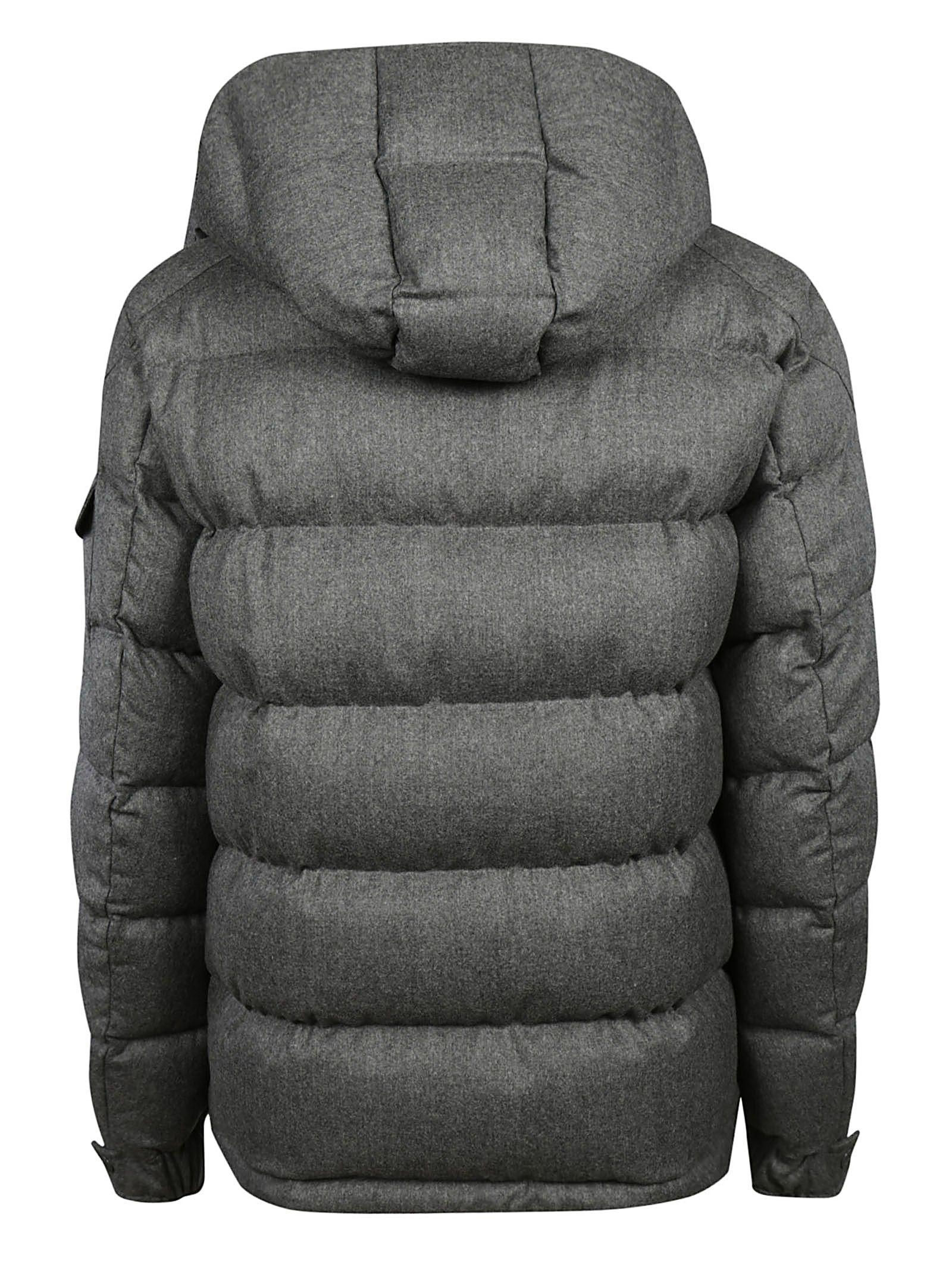 Moncler Montgenevre Padded Jacket - Antracite Moncler Montgenevre Padded Jacket - Antracite