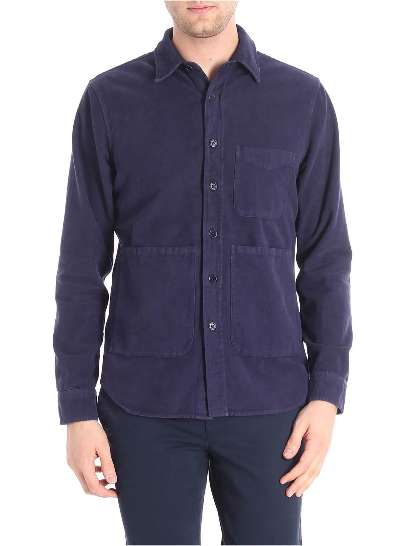 Cotton Shirt Jacket