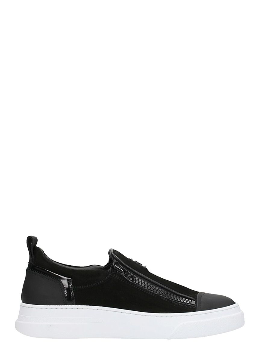logo slip-on sneakers - Black Bruno Bordese 6KplHp9YU