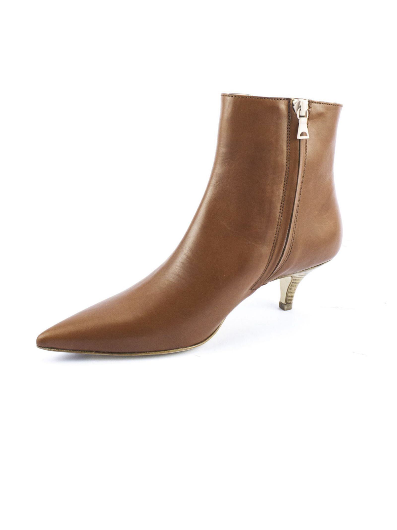 ROBERTO FESTA Brown Calf Leather Ankle Boots Free Shipping Many Kinds Of Low Shipping Online Original Outlet 2018 Newest Clearance Looking For VscmDa3