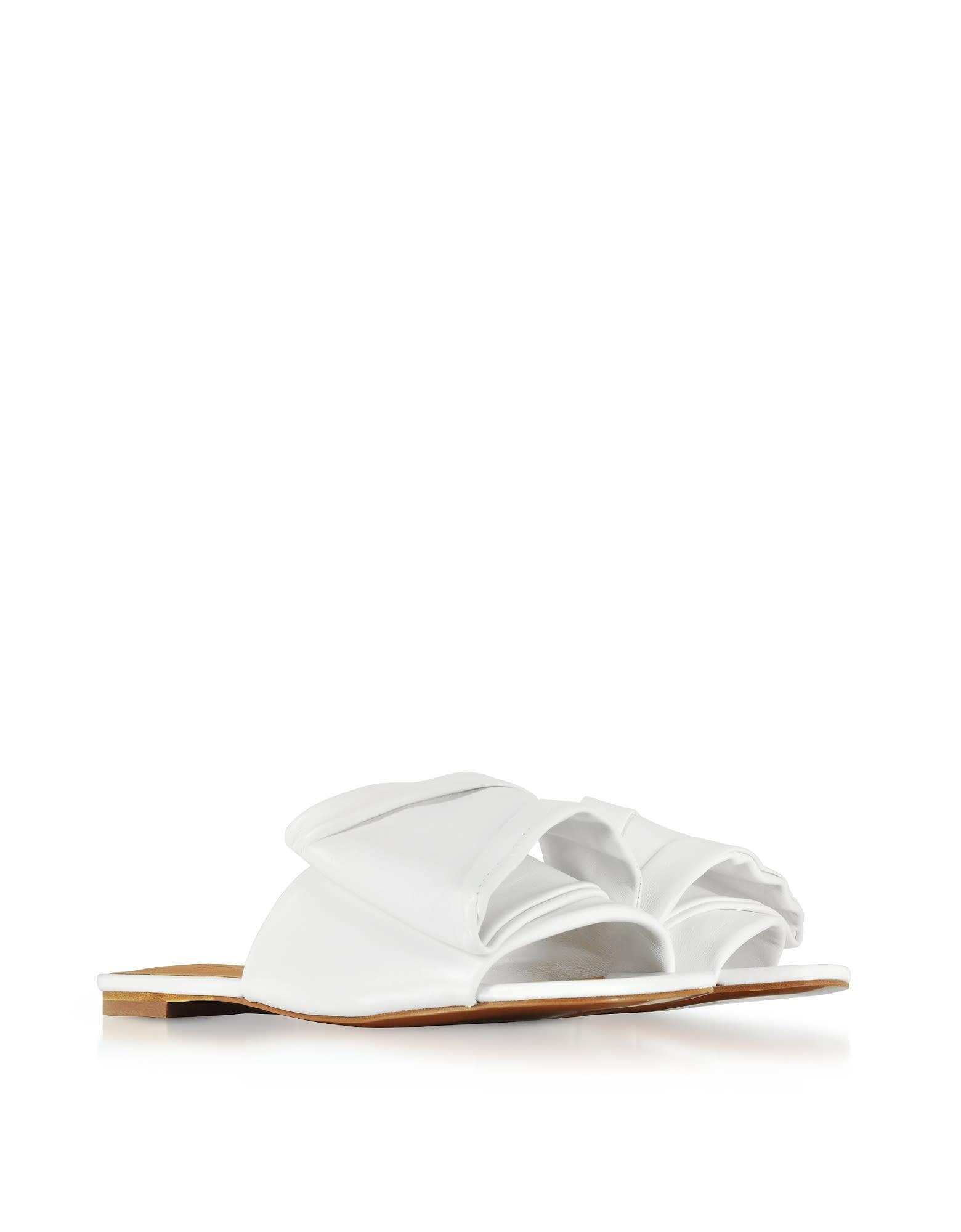 Robert Clergerie Designer Shoes, Igad Leather Flat Sandals