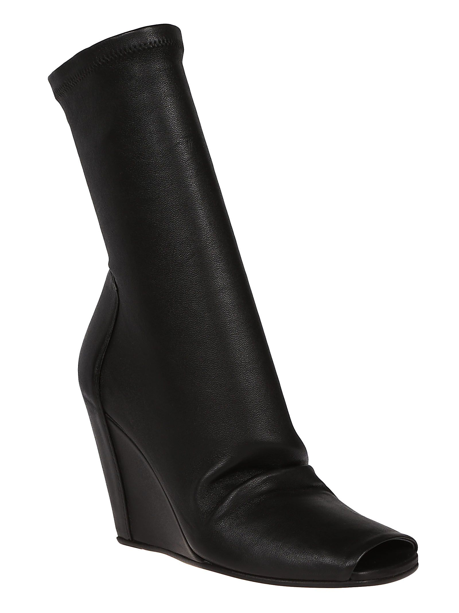 Rick Owens Sock Wedge Boots zRaOI9