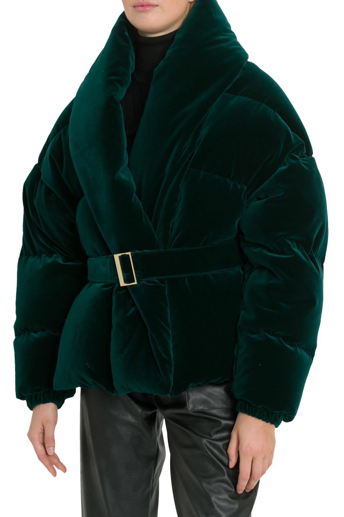 Alexandre Vauthier Clothing PIUMINO IN VELLUTO