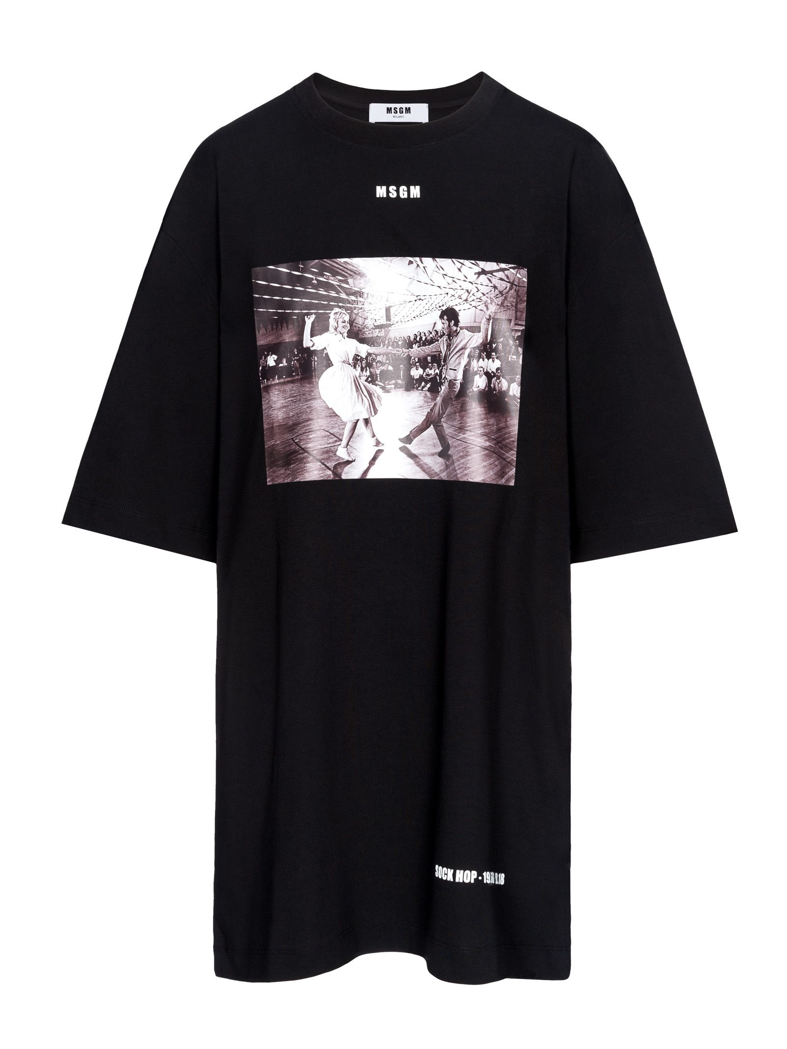 MSGM DRESS TSHIRT