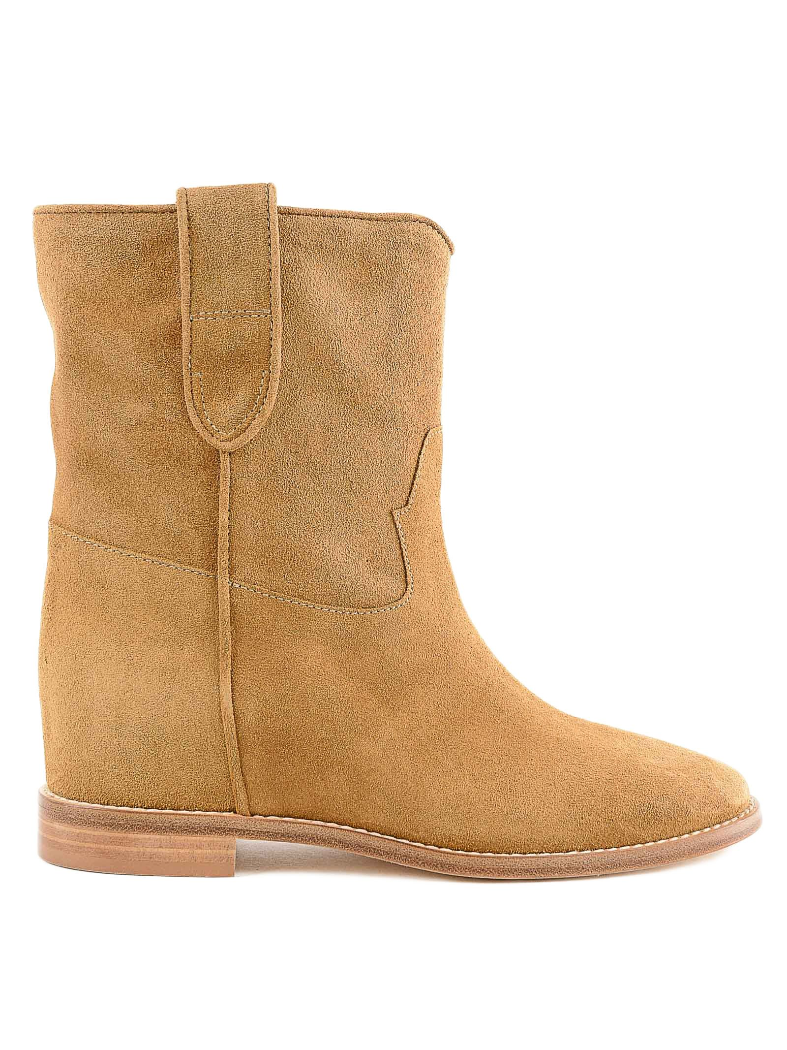 Twinset Round Toe Ankle Boots
