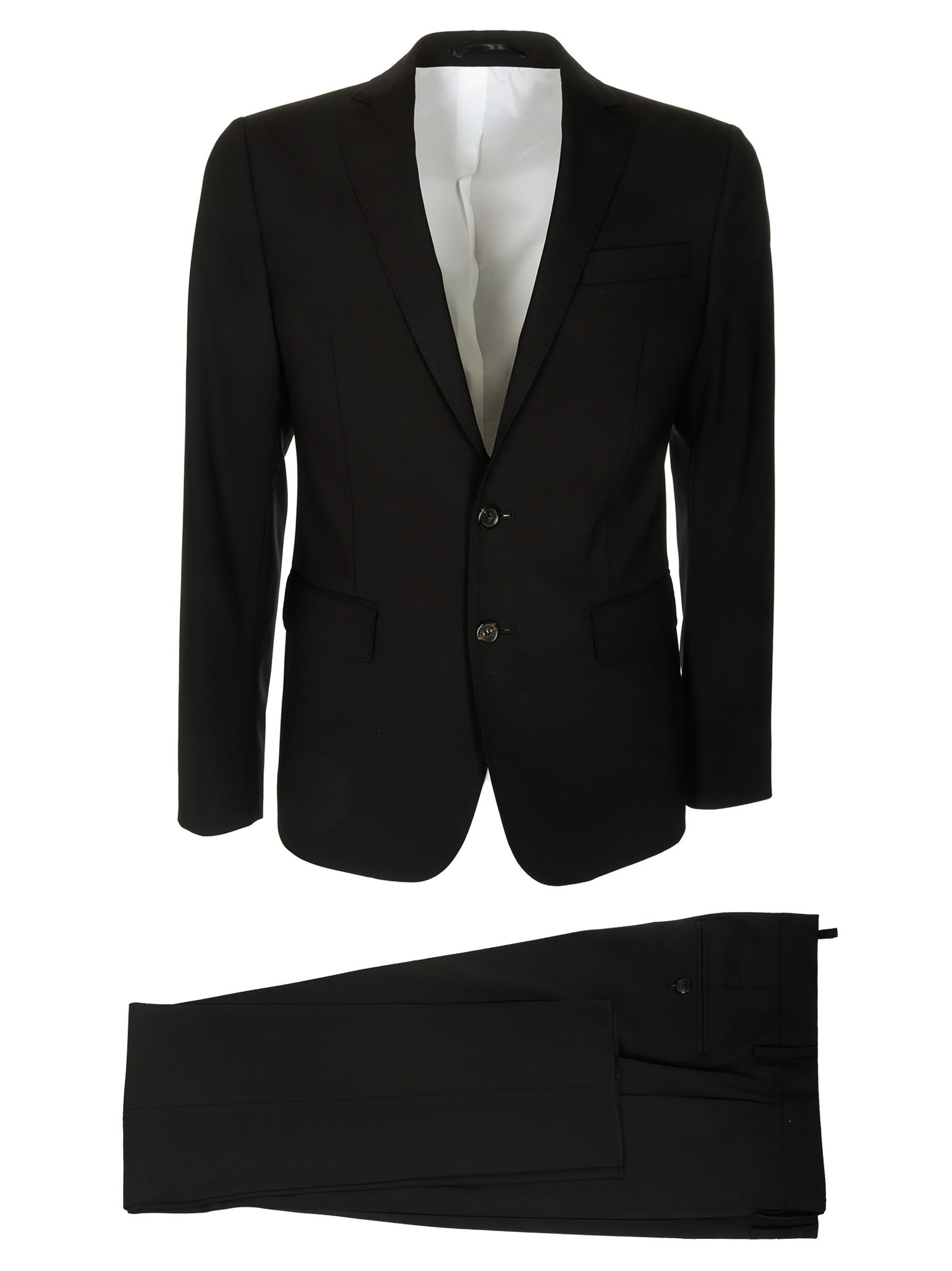 Dsquared2 Two-piece Slim Capri Suit