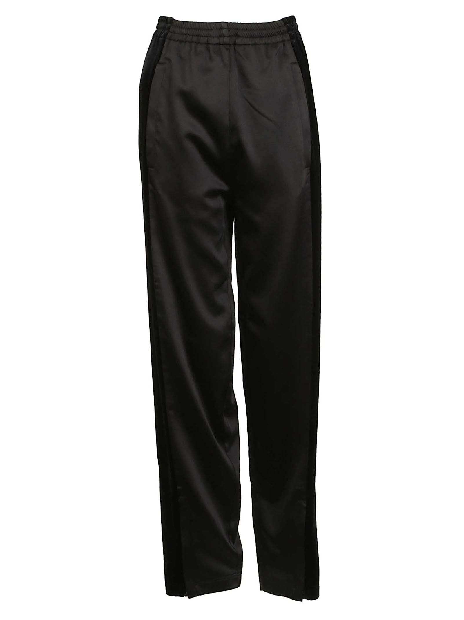 high-waist track trousers - Black Koché