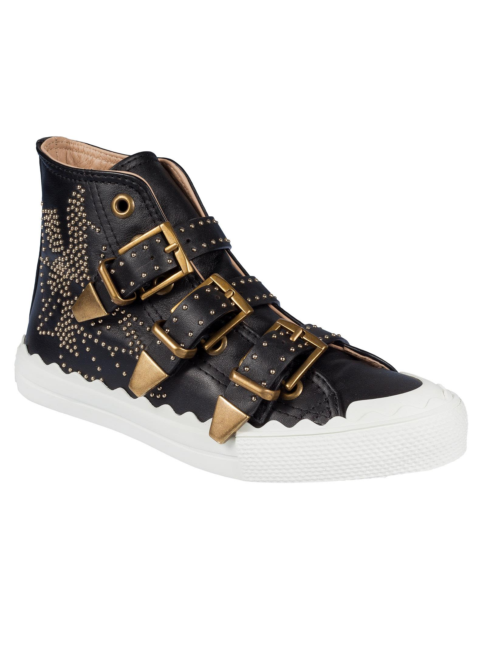 outlet recommend cheap sale largest supplier Chloé embellished sneakers SlEYaMvOV