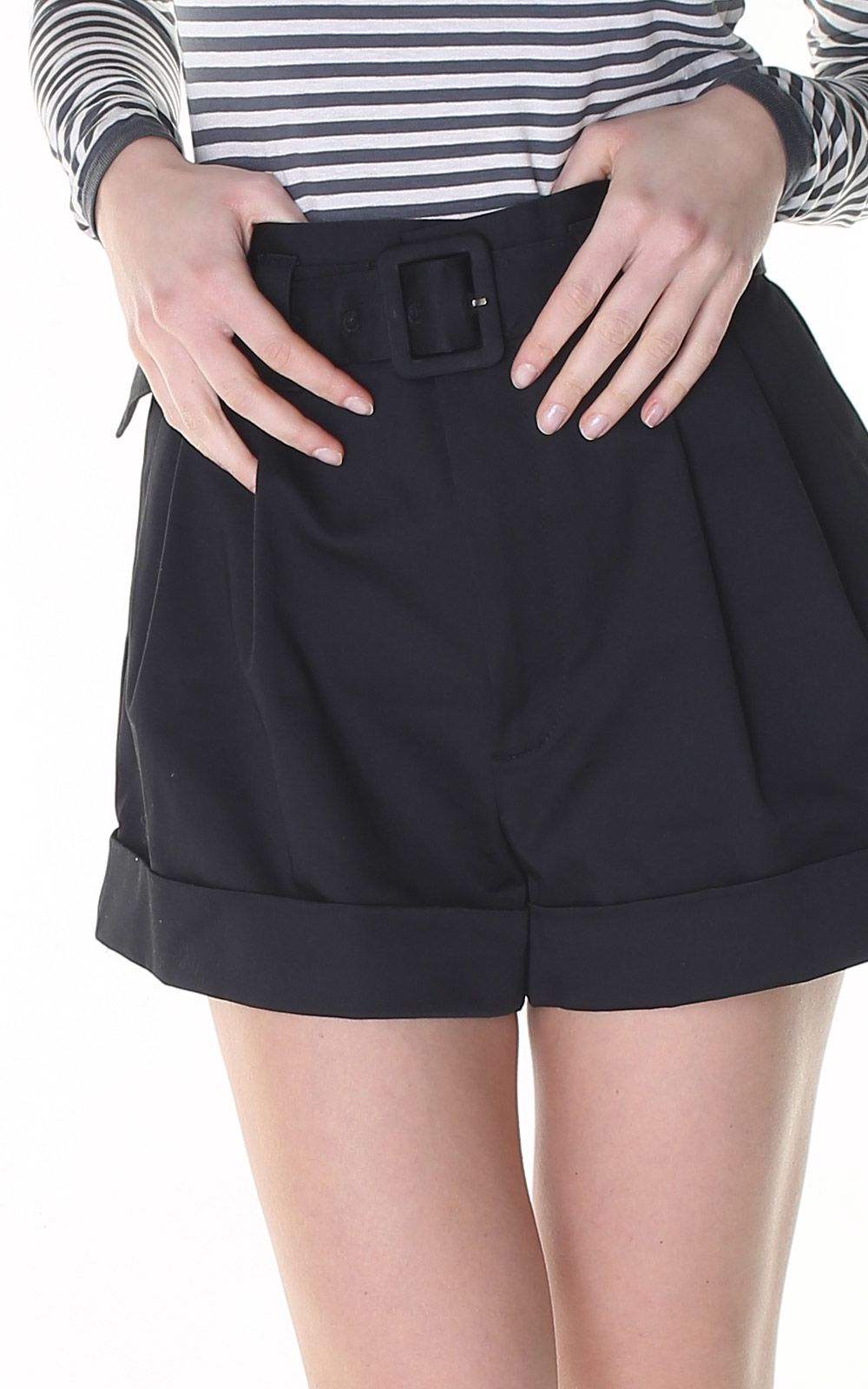 Paper bag-waist cotton shorts Marc Jacobs sZnmZAHAlD