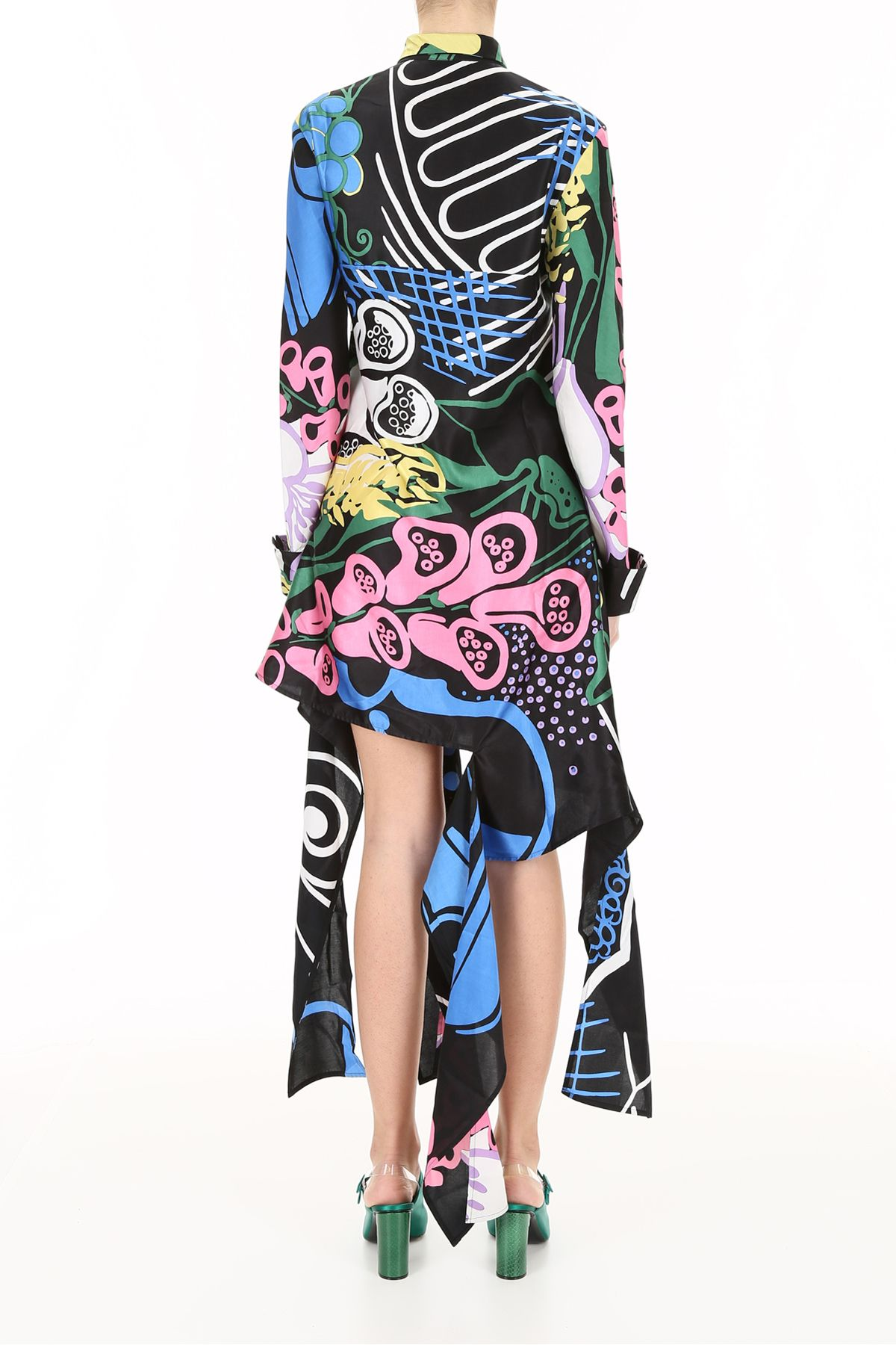 Foxglove print dress - Black J.W.Anderson vRbG52
