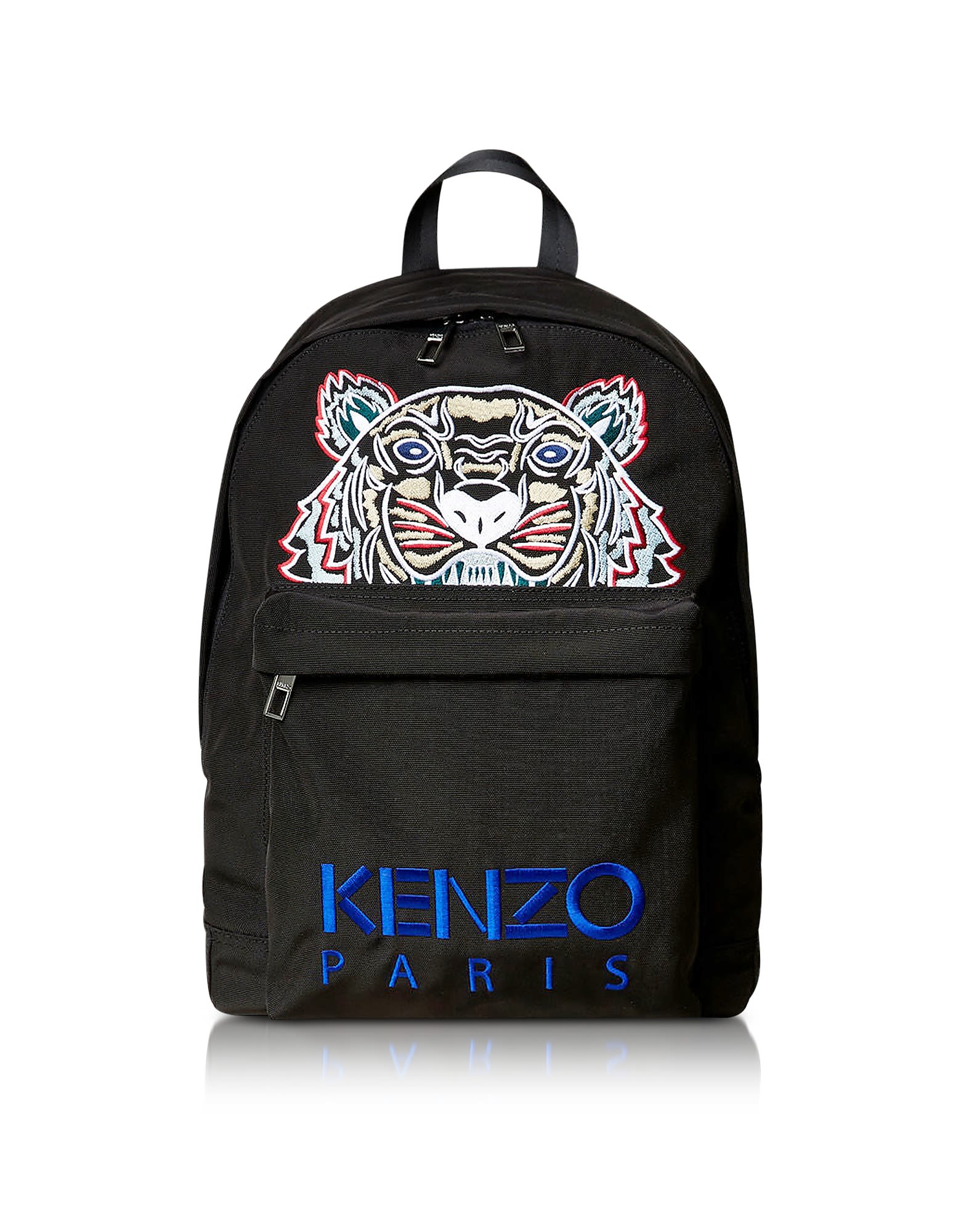 LARGE TIGER CANVAS BACKPACK