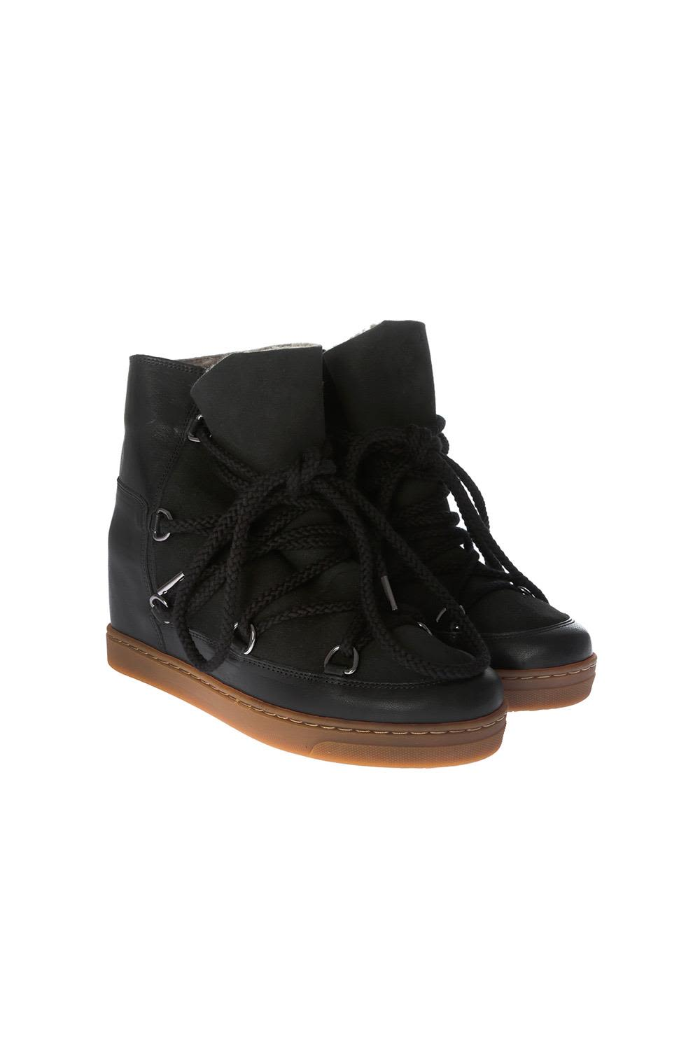 ETOILE NOWLES LACE-UP BOOTS