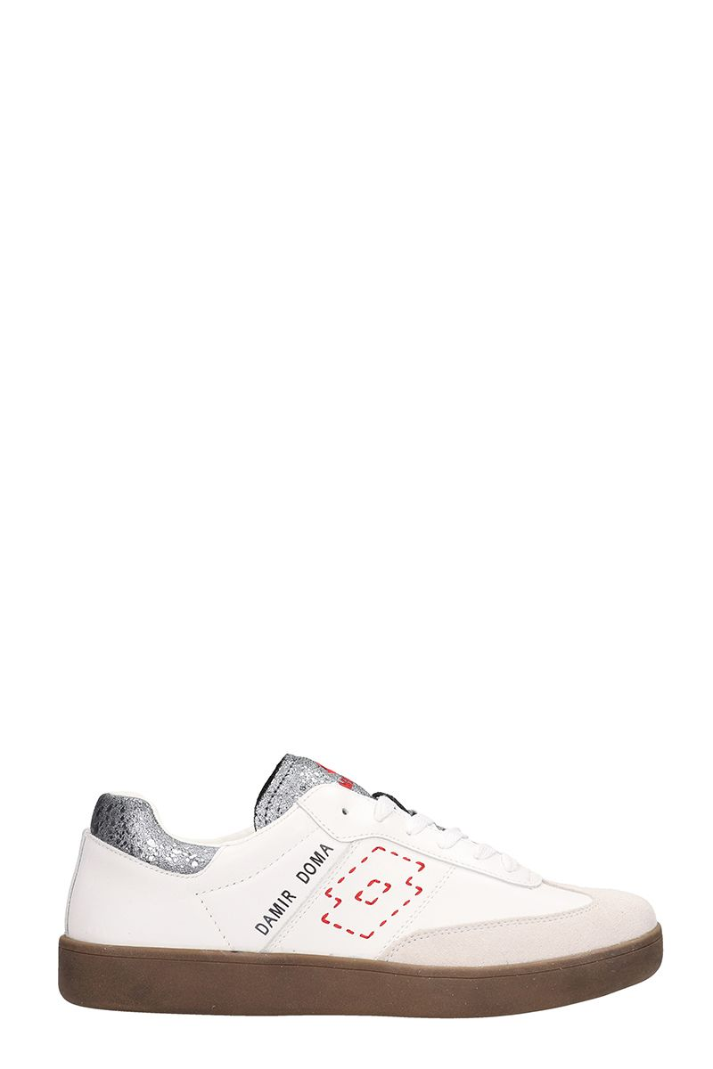 DAMIR DOMA - LOTTO Sneakers Born From The Collaboration Damir Doma X Lotto in White