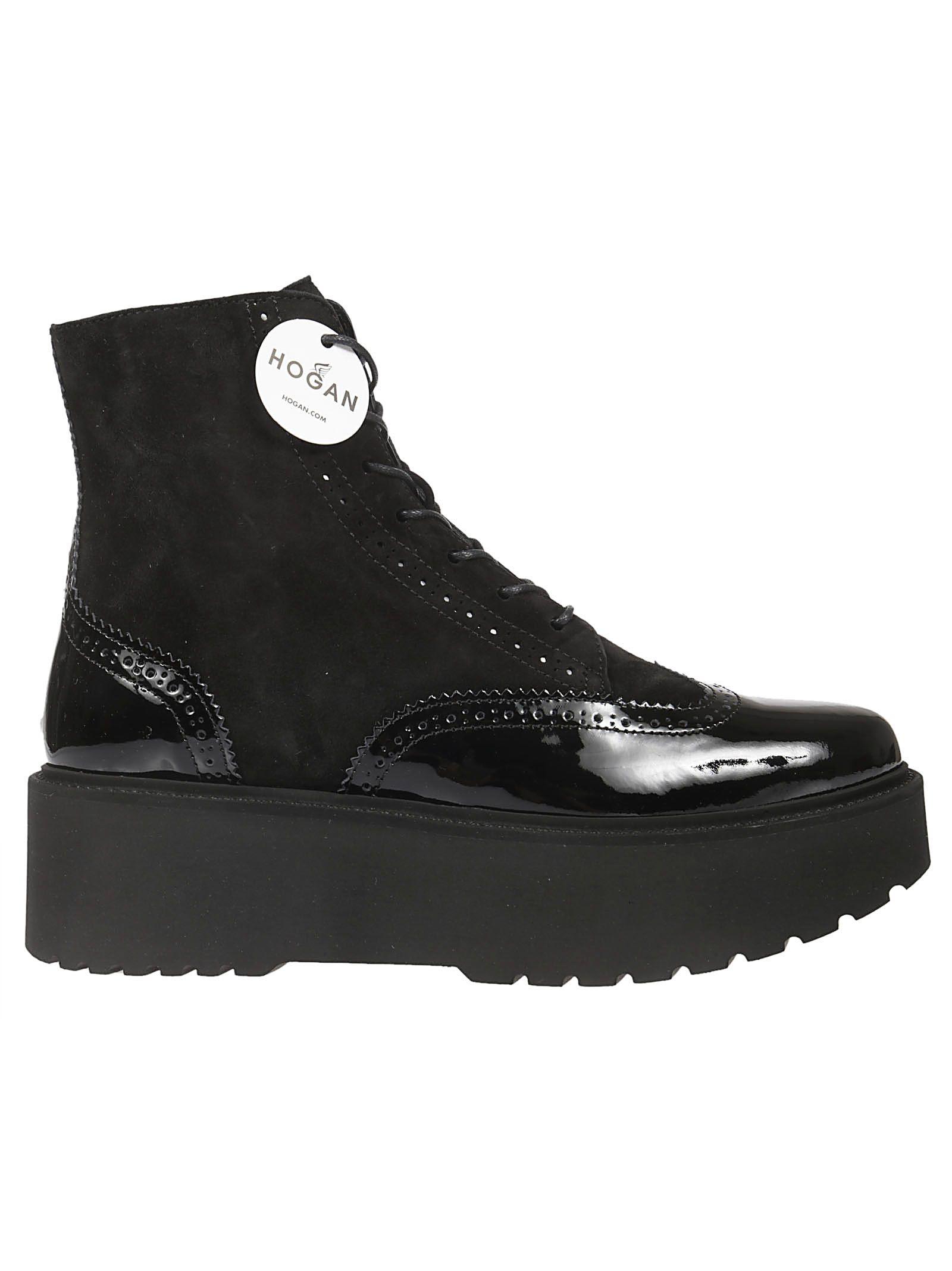 hogan -  H355 Lace Up Boots