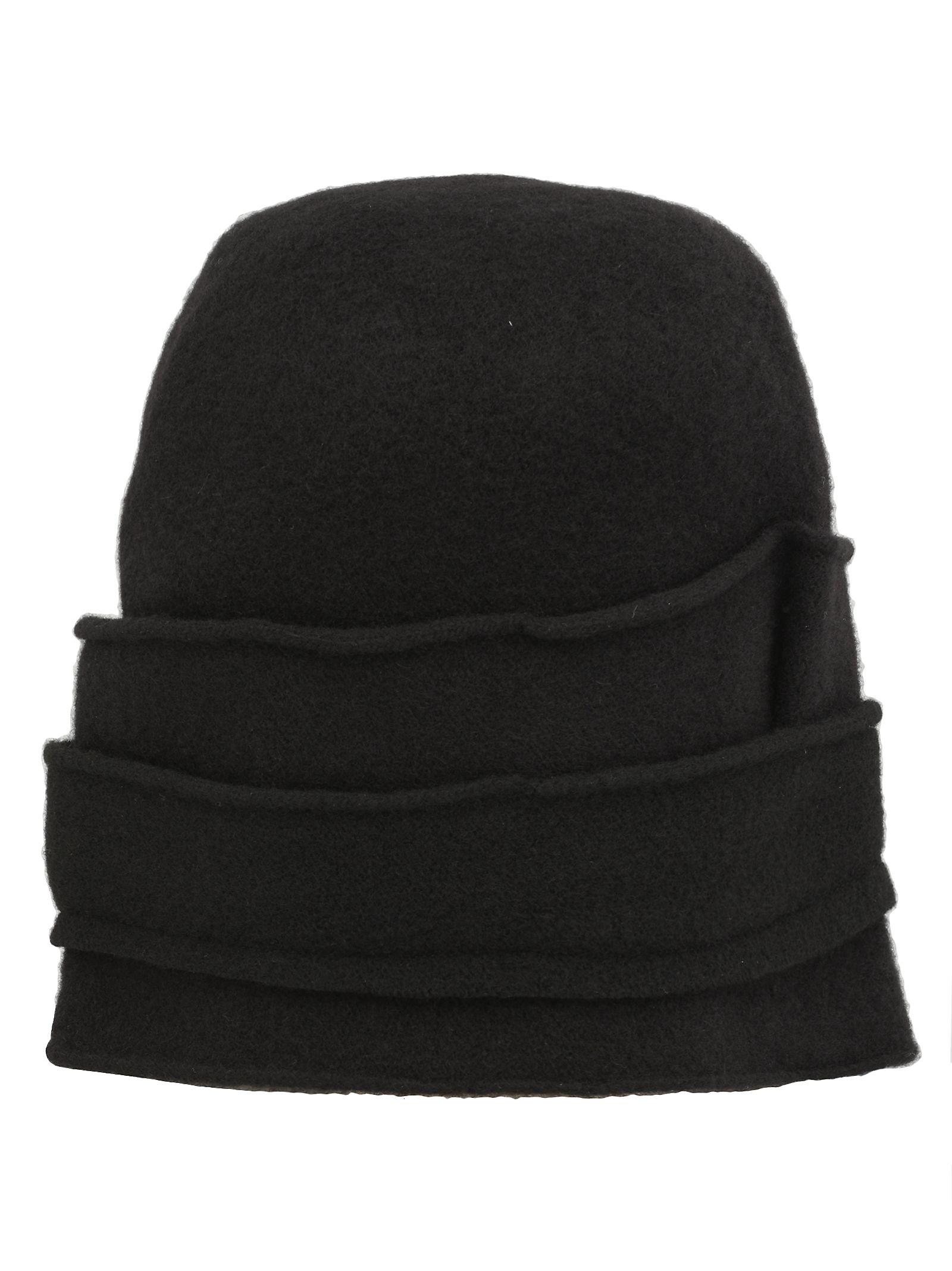 SCHA Crown Medium Hat in Black