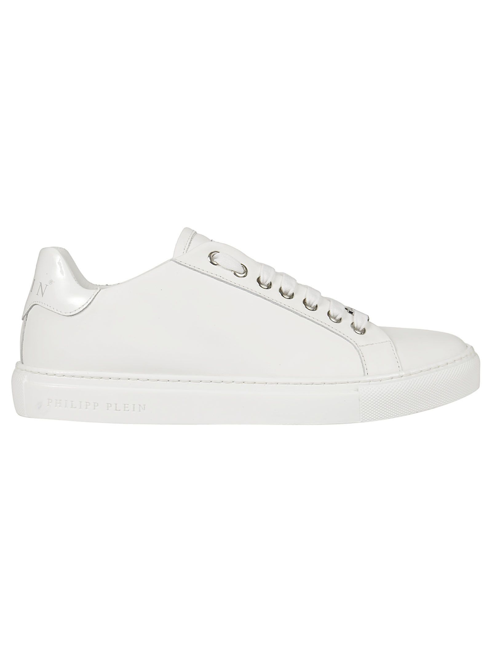 Philipp Plein LOW-TOP LACED-UP SNEAKERS