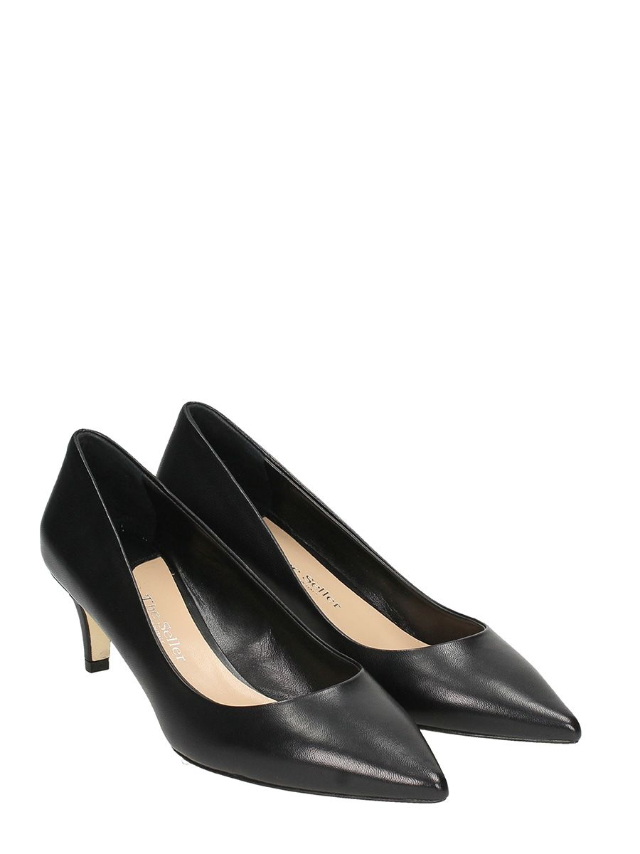 The Seller Leather Pumps Cheap Sale High Quality Low Shipping Fee Online Very Cheap 9Yn46